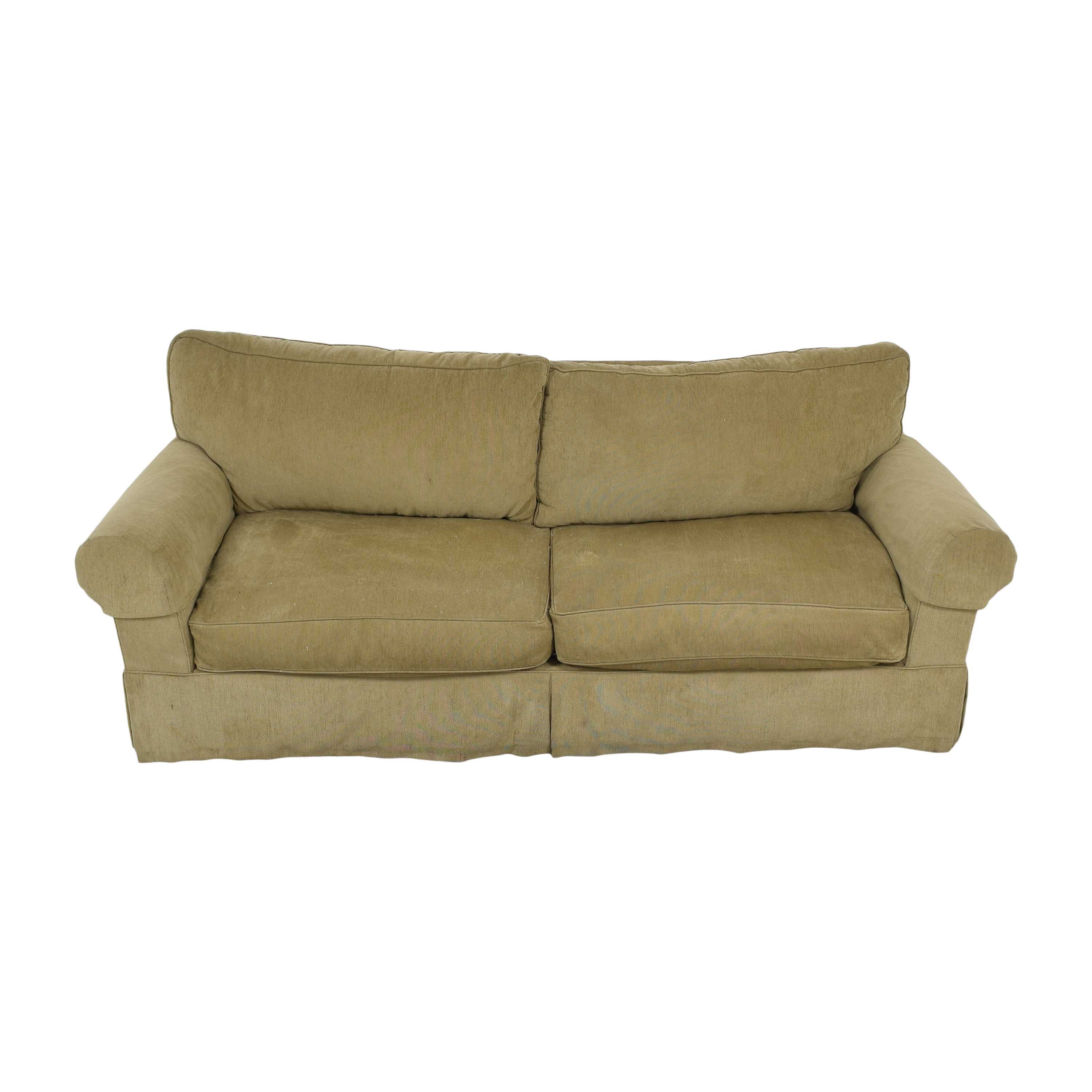 Restoration Hardware Restoration Hardware Grand Scale Roll Arm Slipcover Sofa nyc