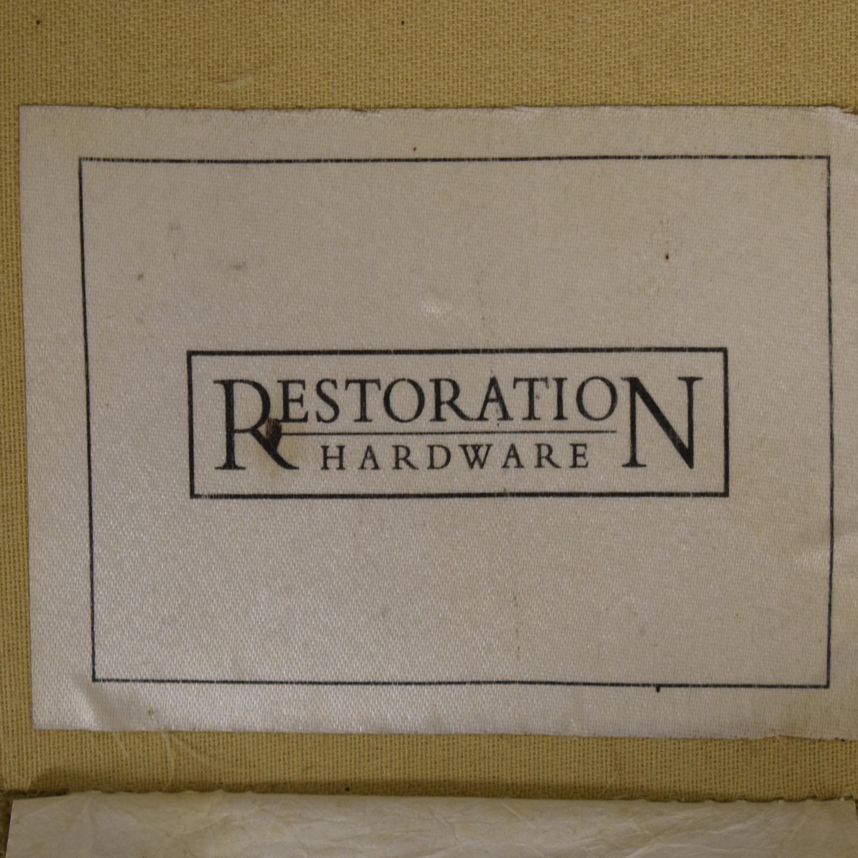 Restoration Hardware Grand Scale Roll Arm Slipcover Sofa / Classic Sofas