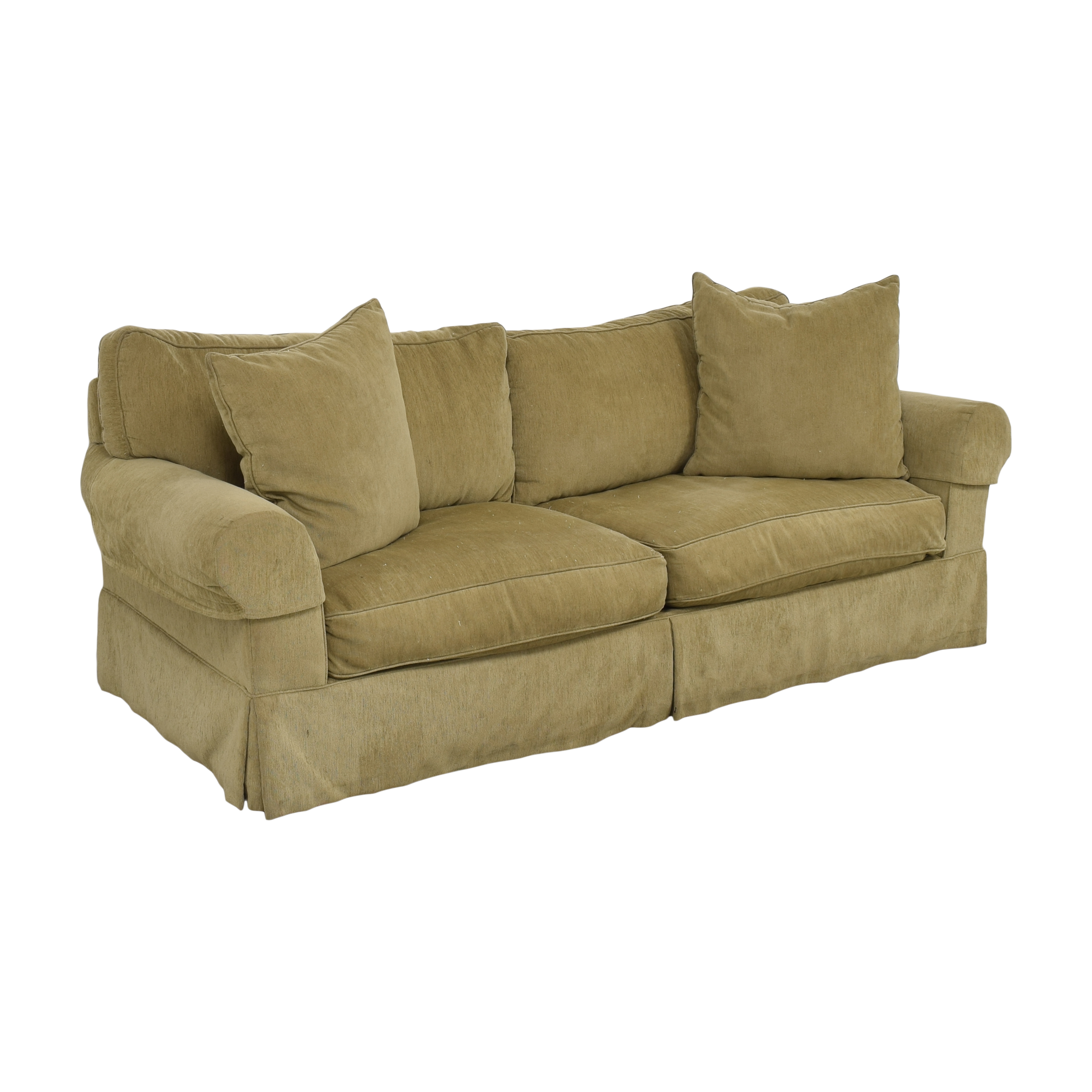 Restoration Hardware Restoration Hardware Grand Scale Roll Arm Slipcover Sofa