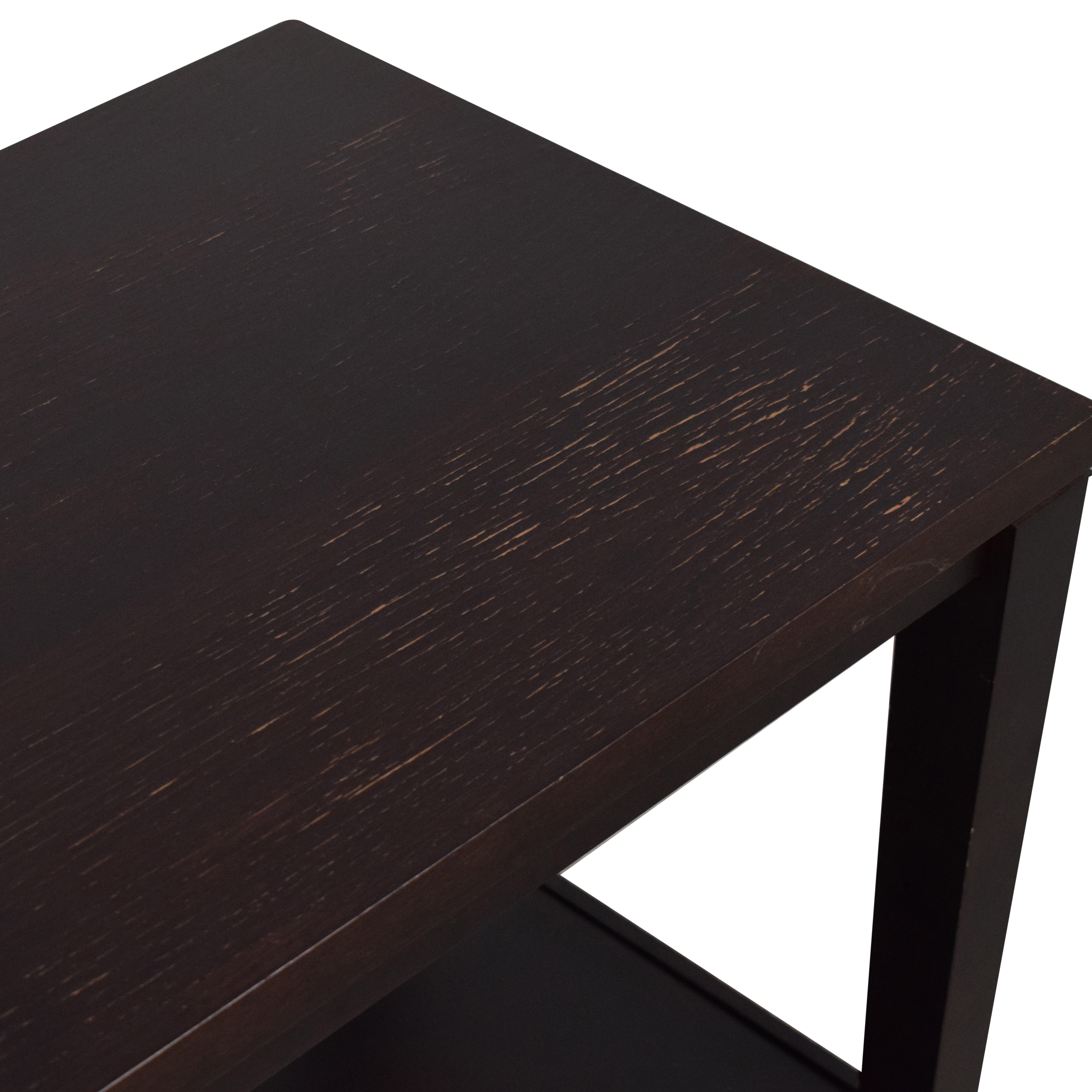buy Crate & Barrel Baronet Side Tables Baronet