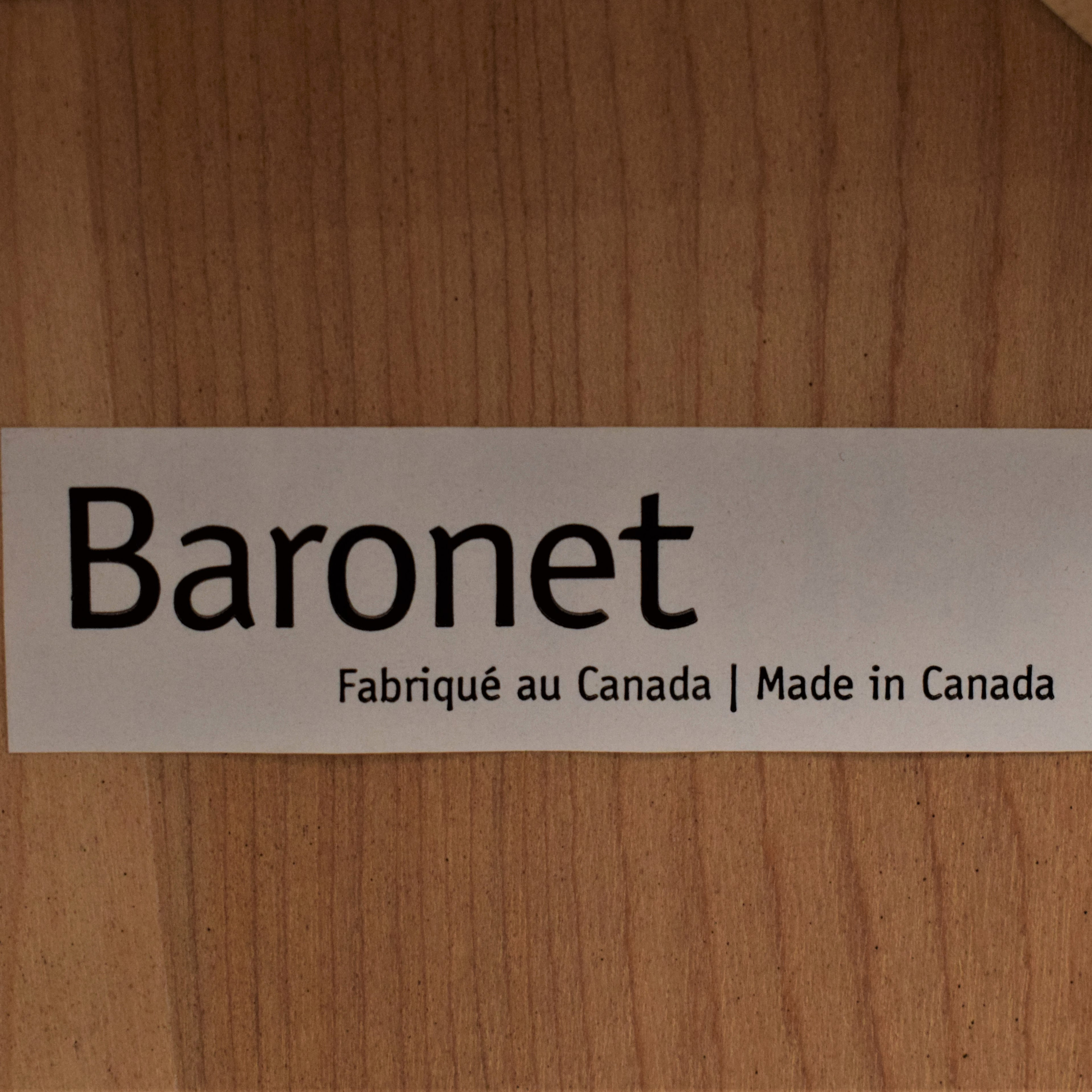Baronet Crate & Barrel Baronet Side Tables pa