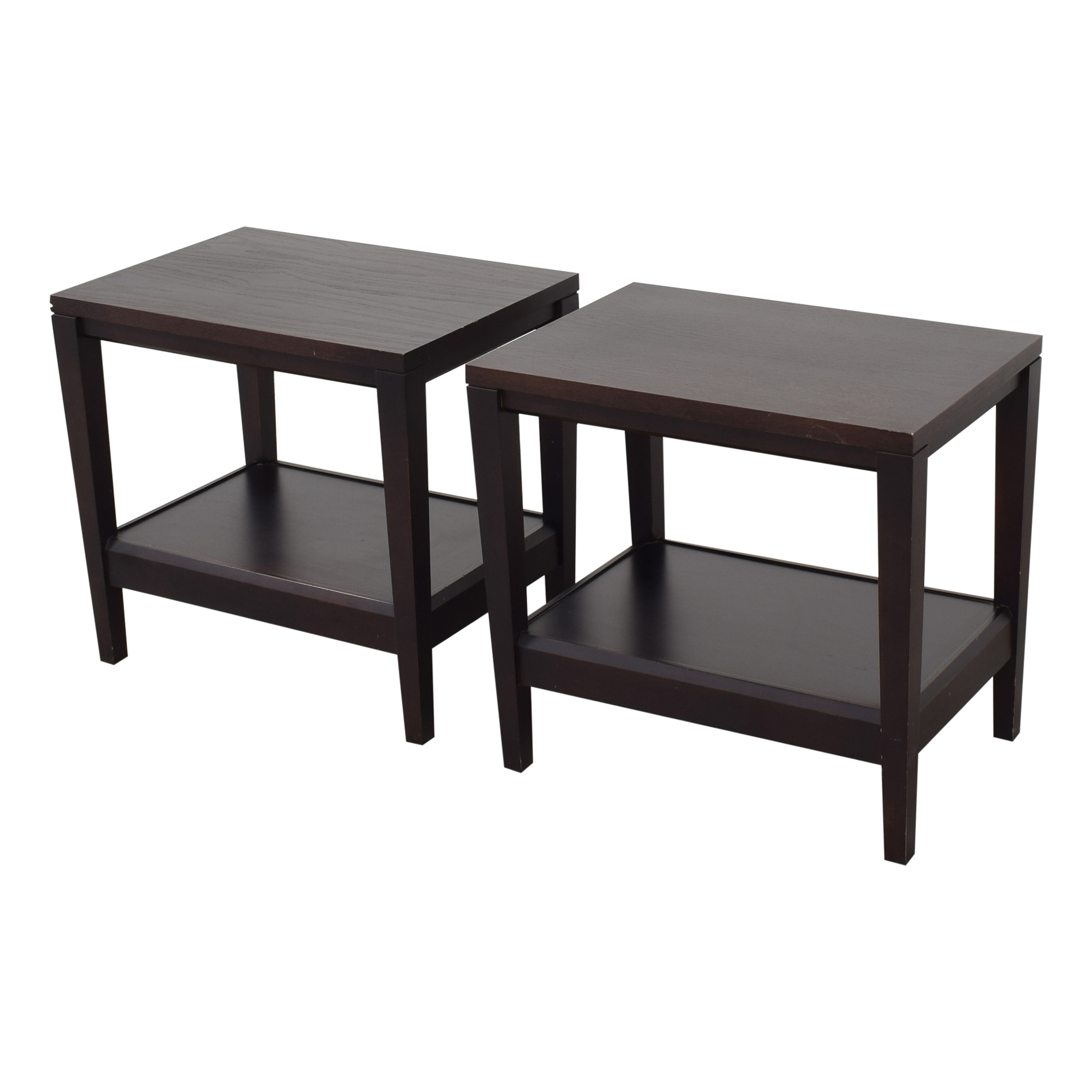 Baronet Crate & Barrel Baronet Side Tables for sale