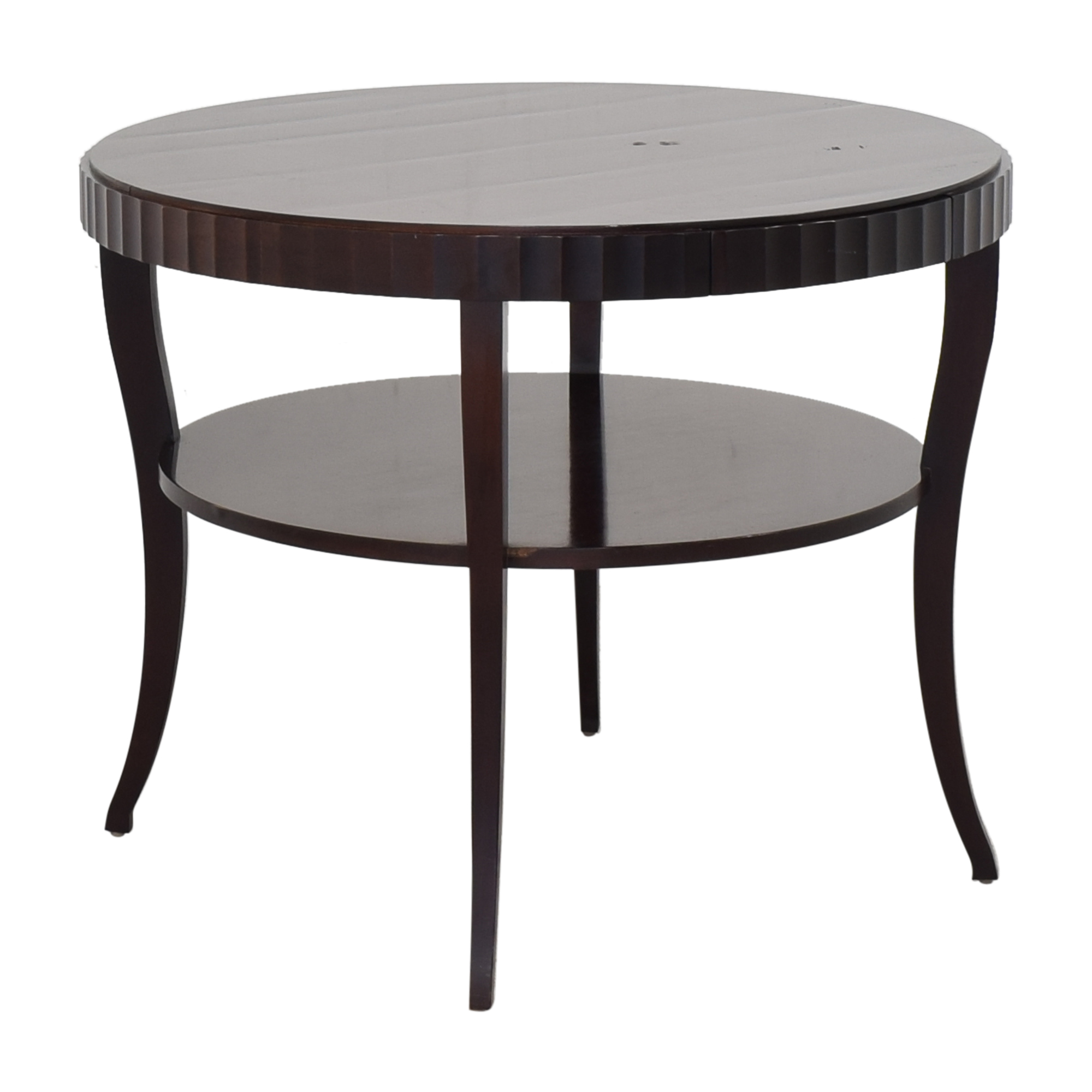Baker Furniture Baker Furniture Round End Table nyc