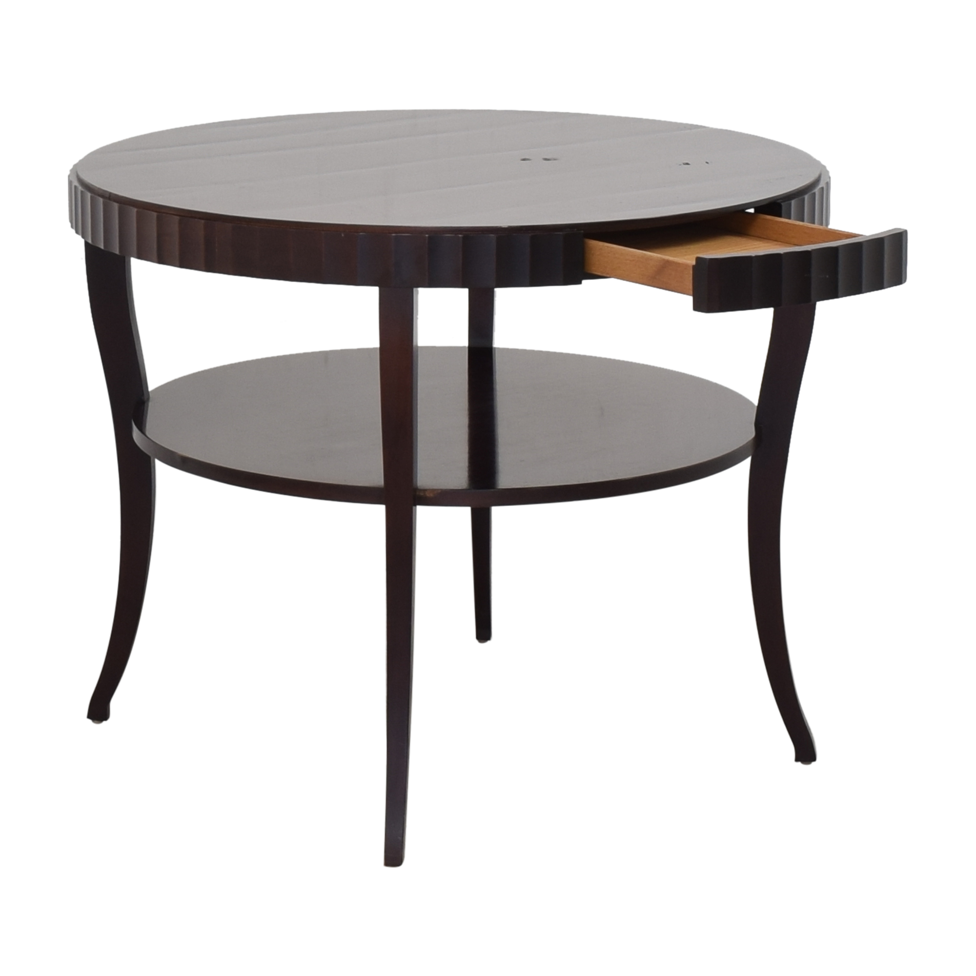Baker Furniture Baker Furniture Round End Table discount