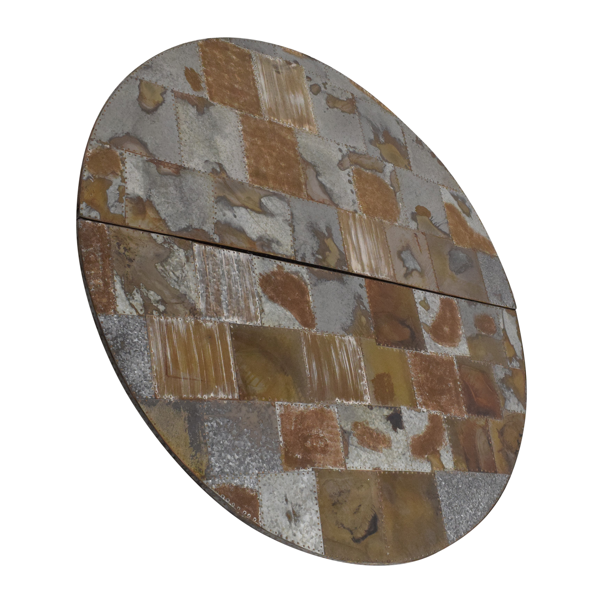 buy Pottery Barn Pottery Barn Galvanized Metal Patchwork Art online