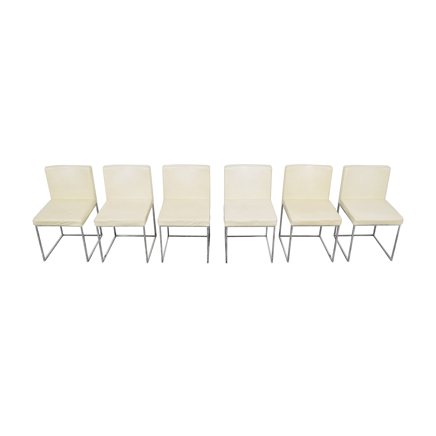 Calligaris Calligaris Even Plus Leather Chairs Dining Chairs