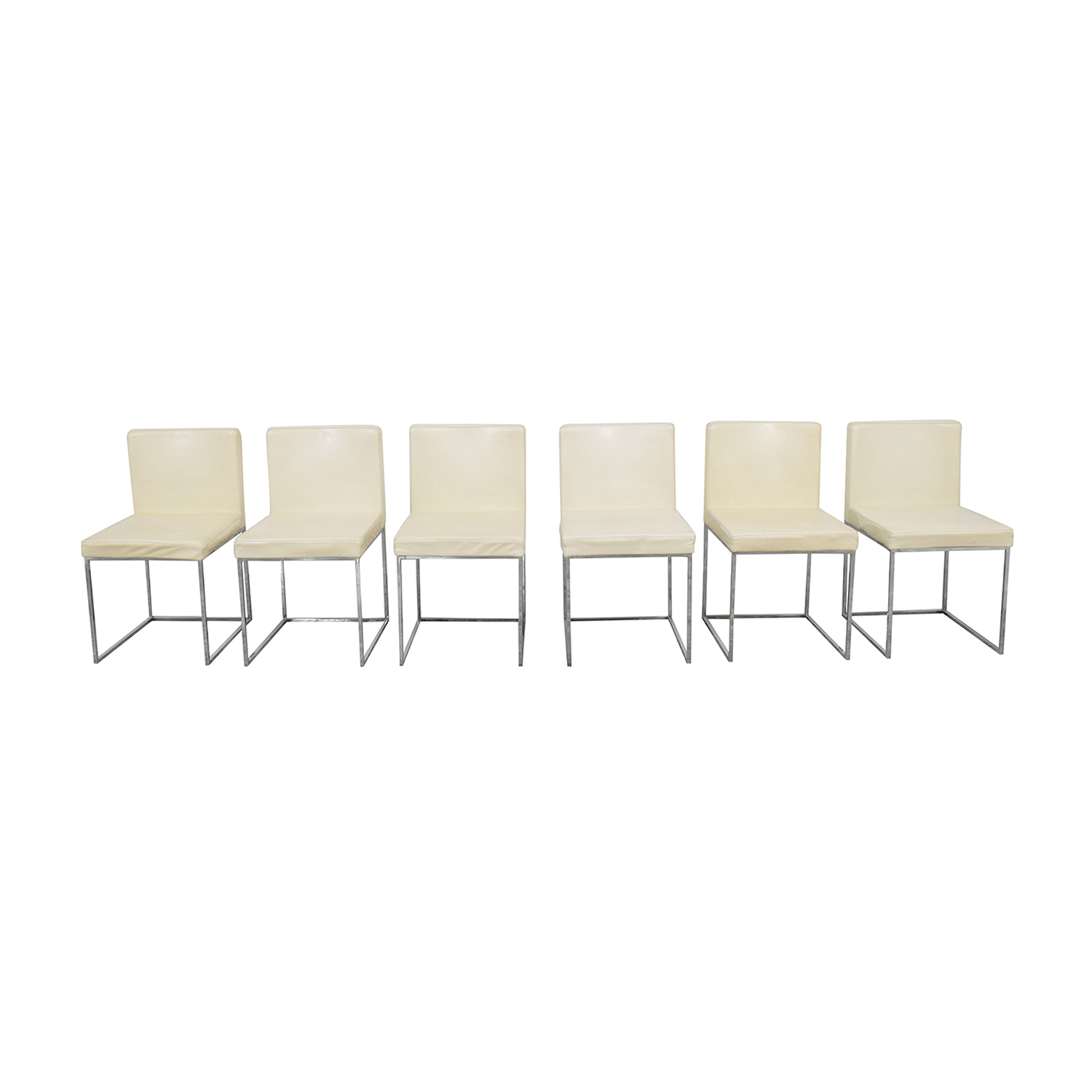Calligaris Calligaris Even Plus Leather Chairs for sale