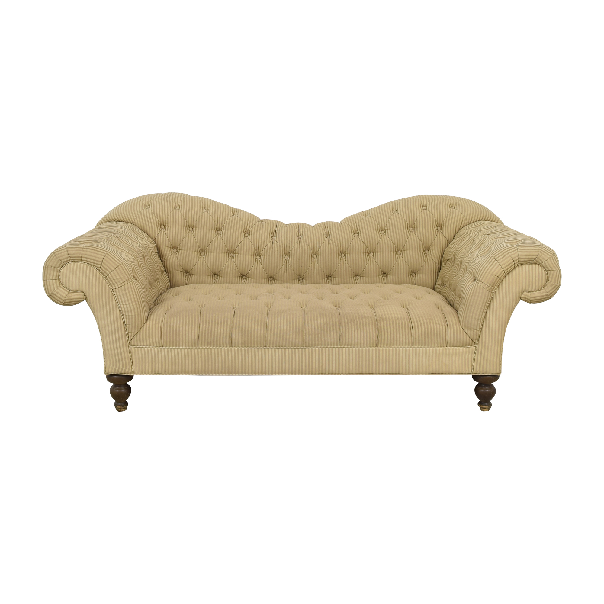 shop Rooms To Go Tufted Roll Arm Chesterfield Sofa Rooms To Go