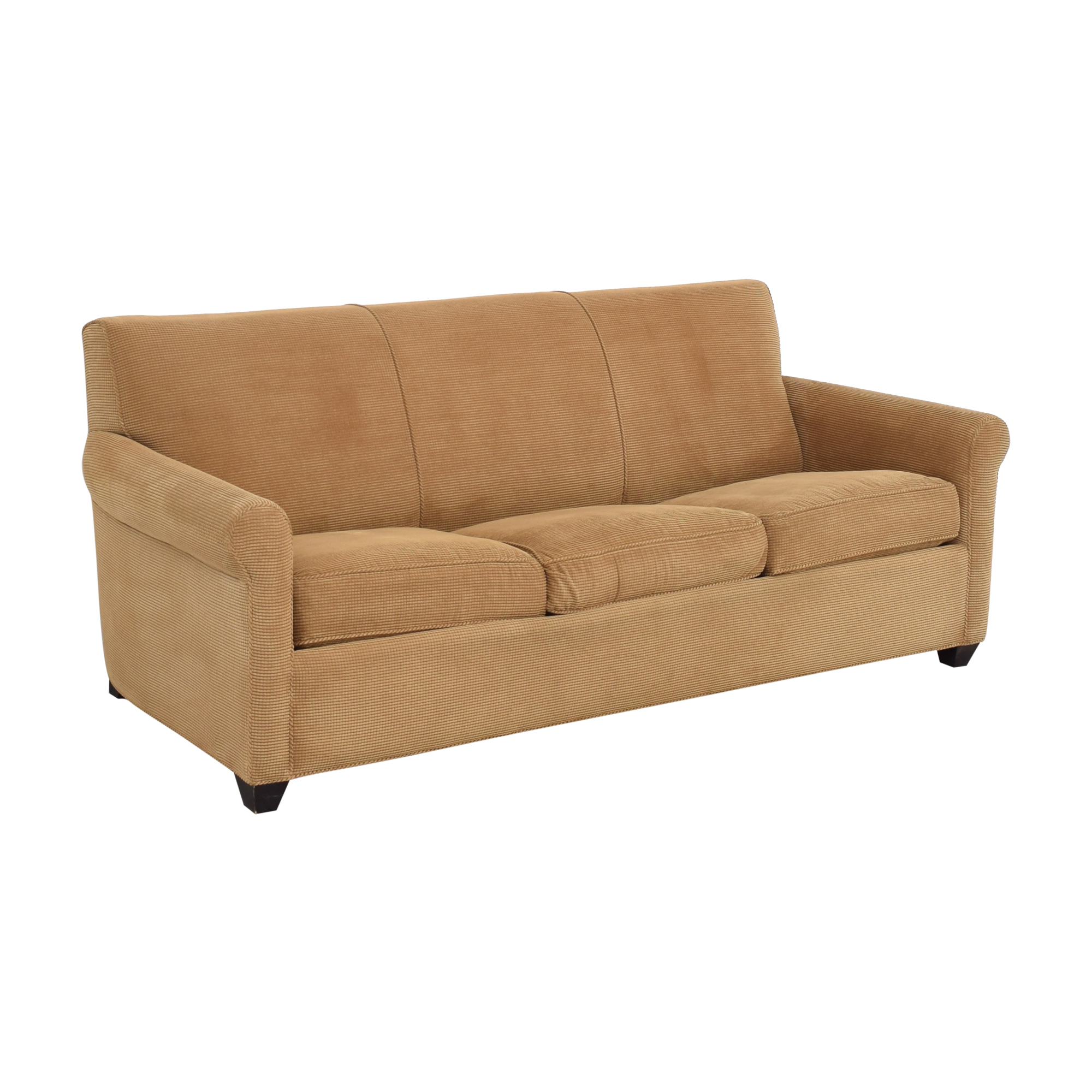 shop Crate & Barrel Crate & Barrel Rolled Arm Queen Sleeper Sofa online