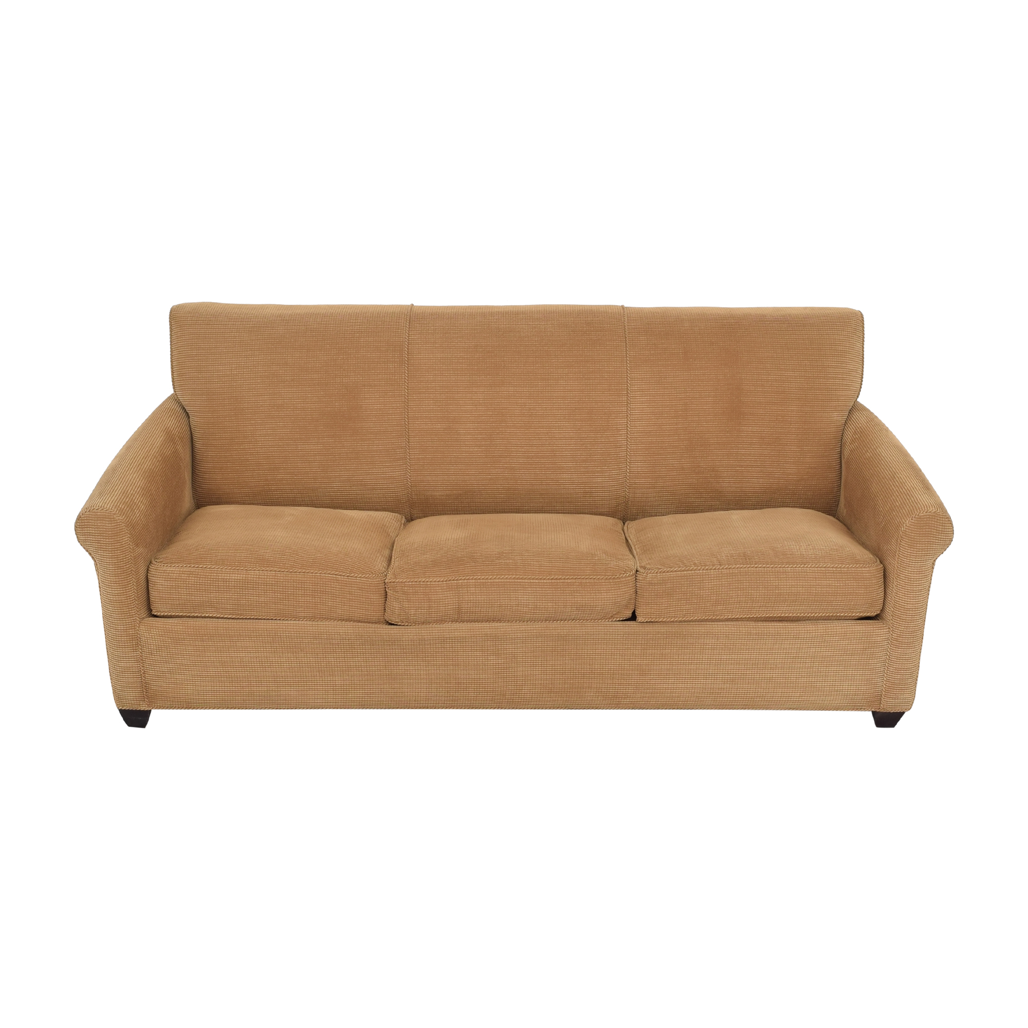 Crate & Barrel Crate & Barrel Rolled Arm Queen Sleeper Sofa