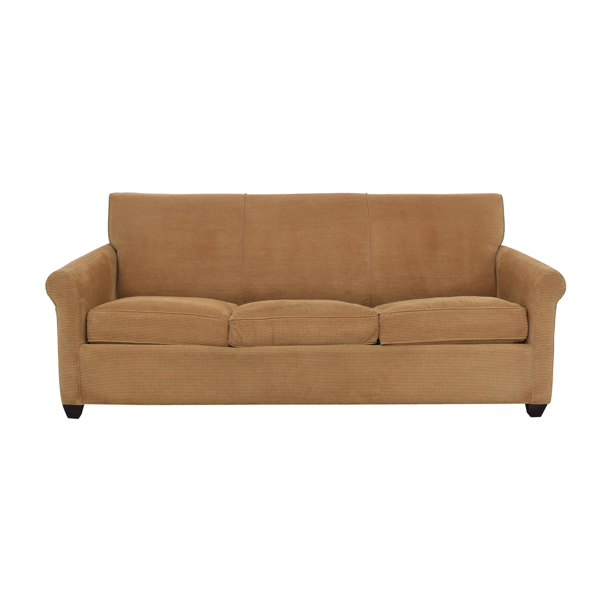 buy Crate & Barrel Rolled Arm Queen Sleeper Sofa Crate & Barrel Sofas