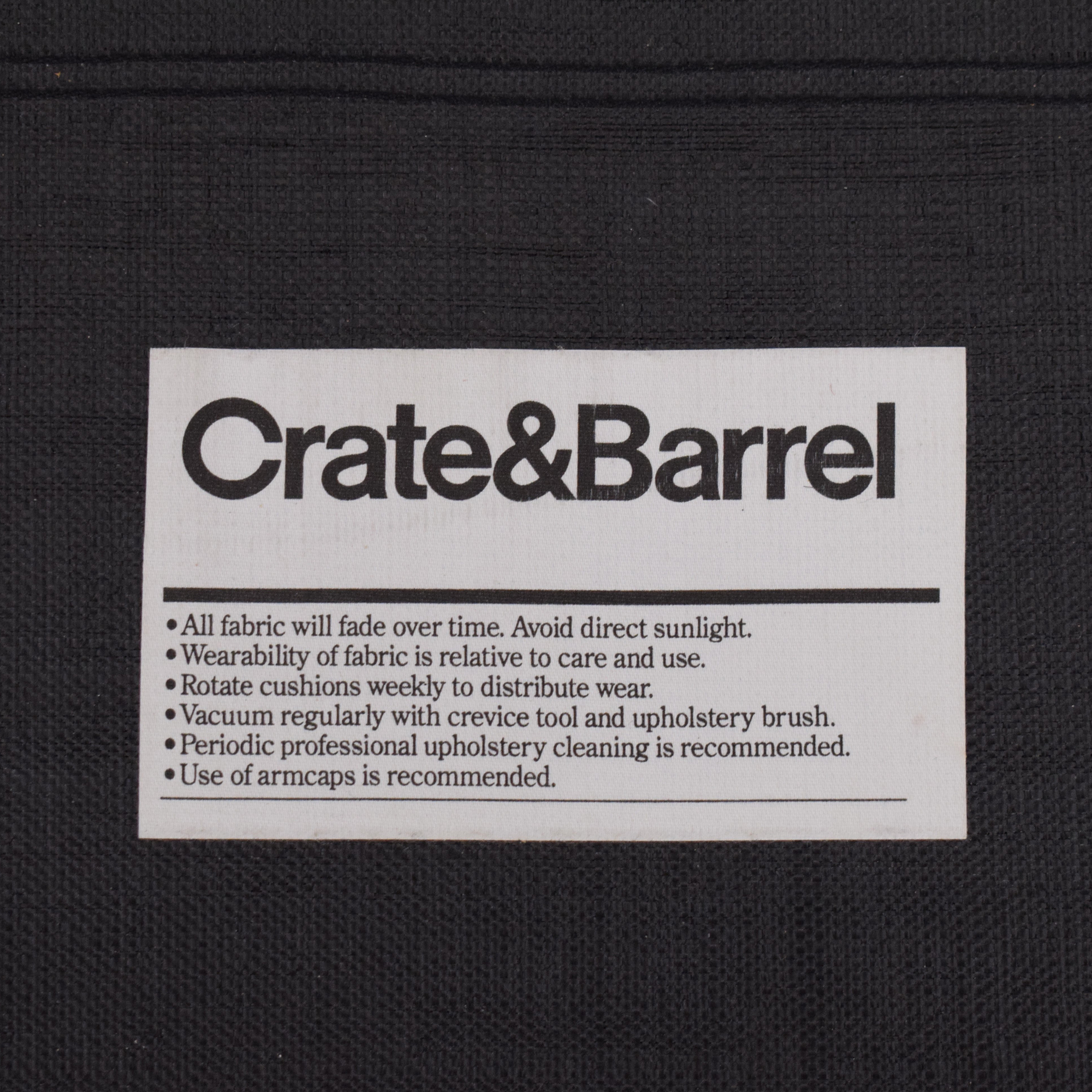 Crate & Barrel Crate & Barrel Rolled Arm Queen Sleeper Sofa pa