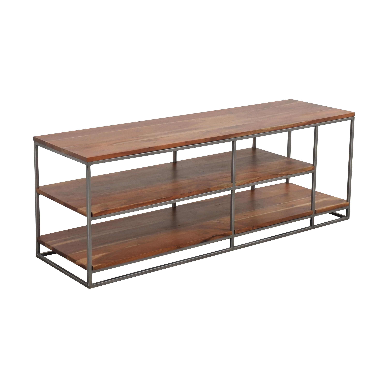 CB2 CB2 Framework Open Shelf Credenza for sale