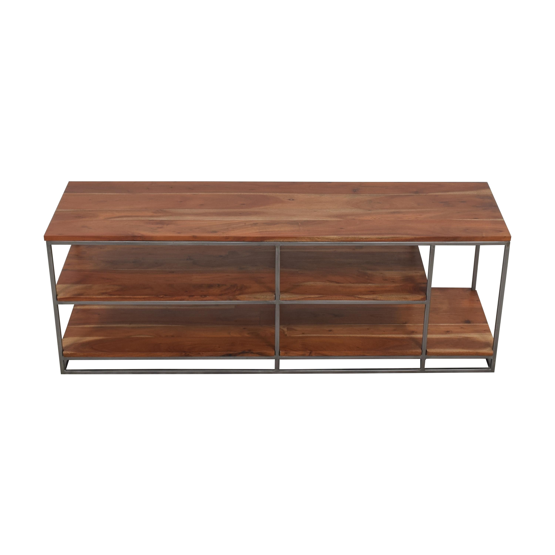 shop CB2 Framework Open Shelf Credenza CB2 Storage