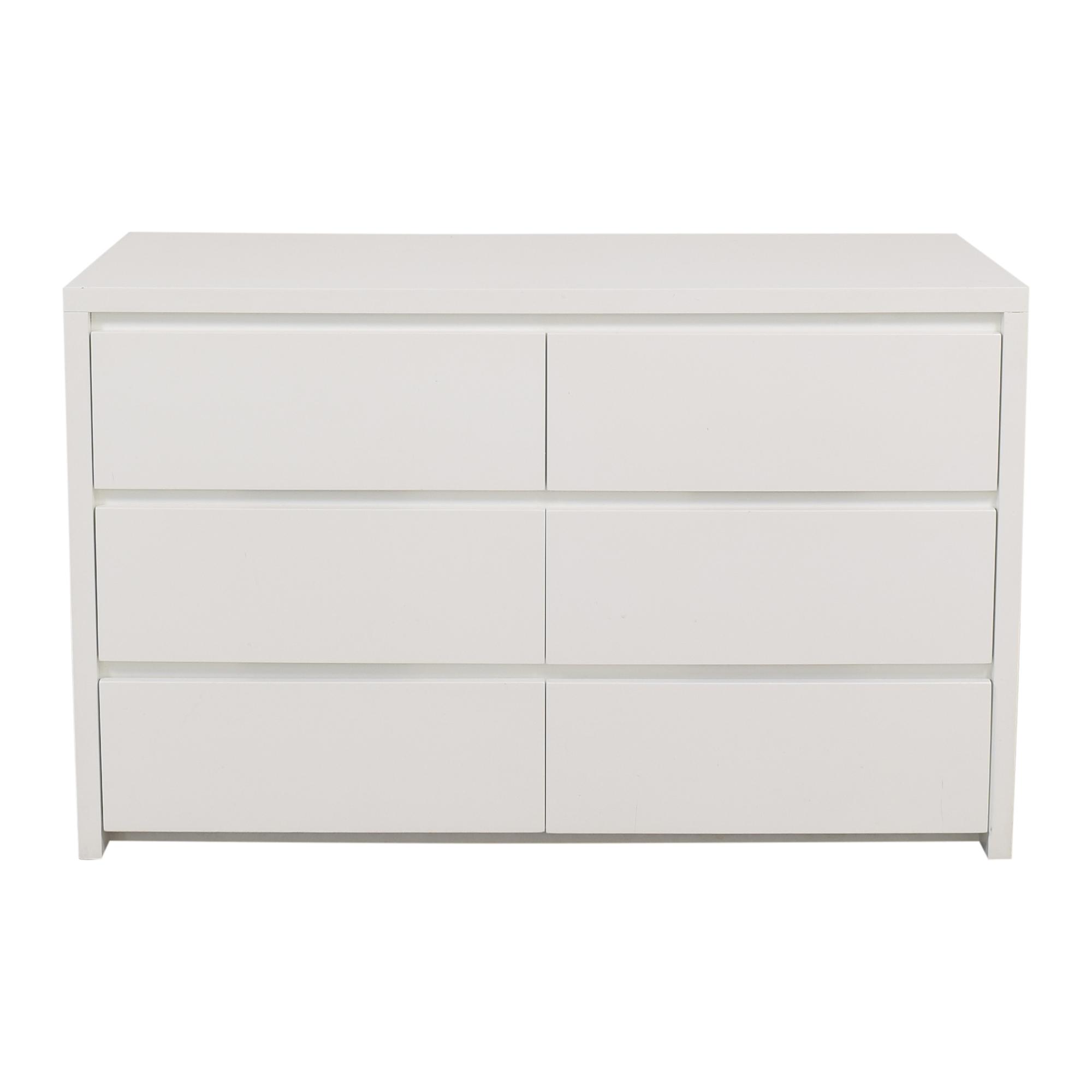 Urbangreen Furniture Urbangreen Six Drawer Urban Basics Dresser on sale