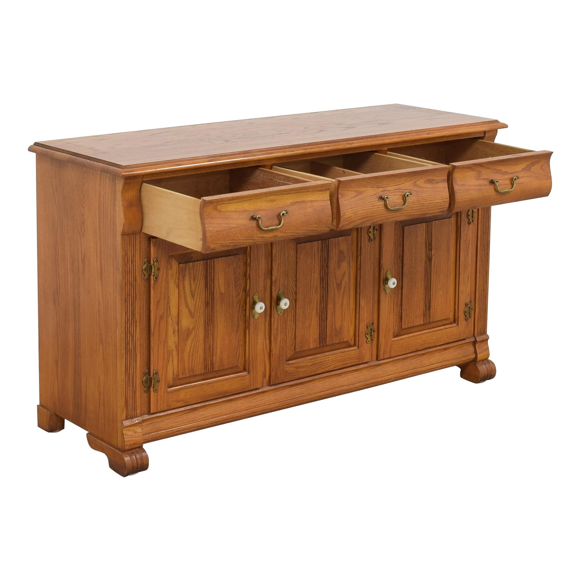 buy Keller Three Drawer Sideboard Keller Cabinets & Sideboards