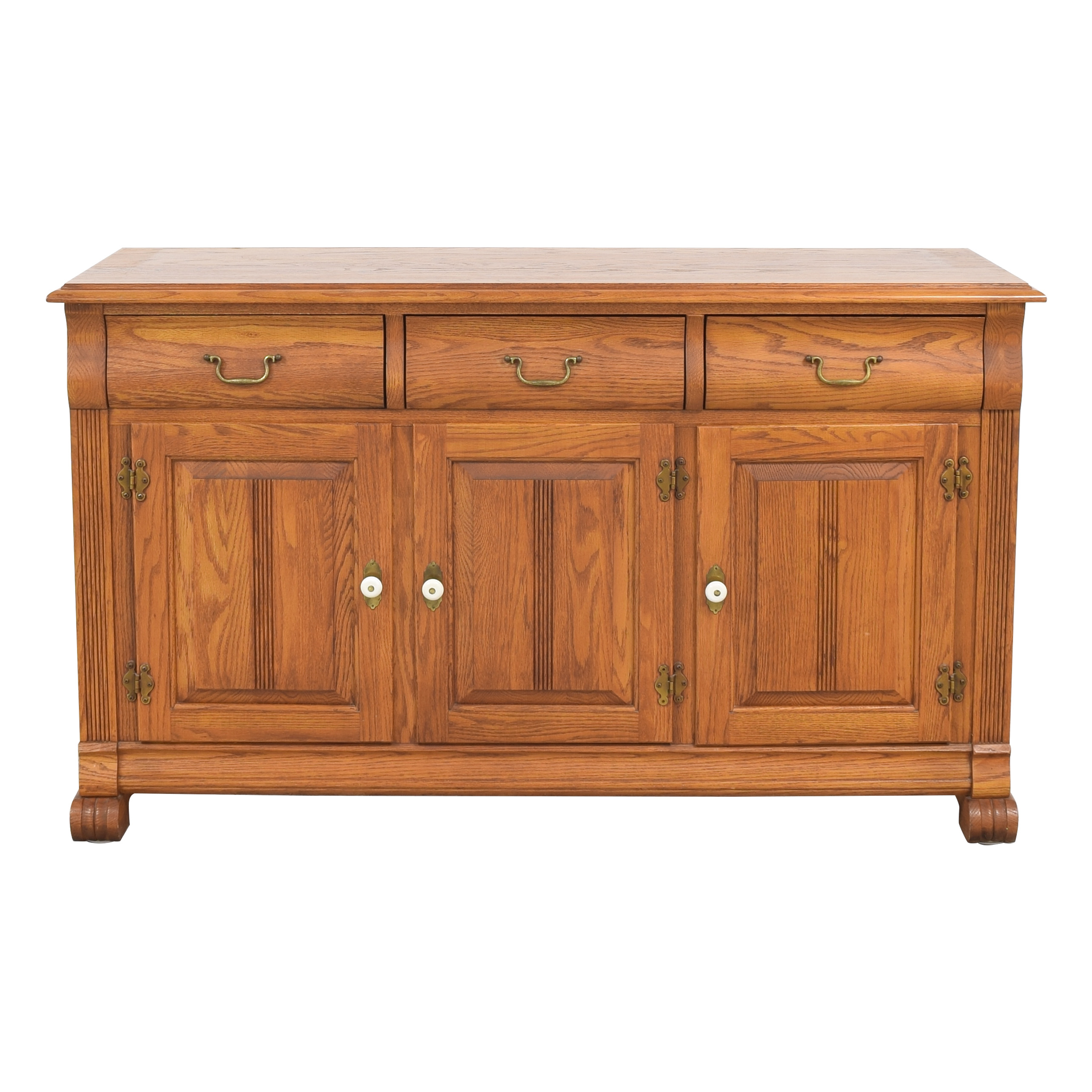 Keller Keller Three Drawer Sideboard nj