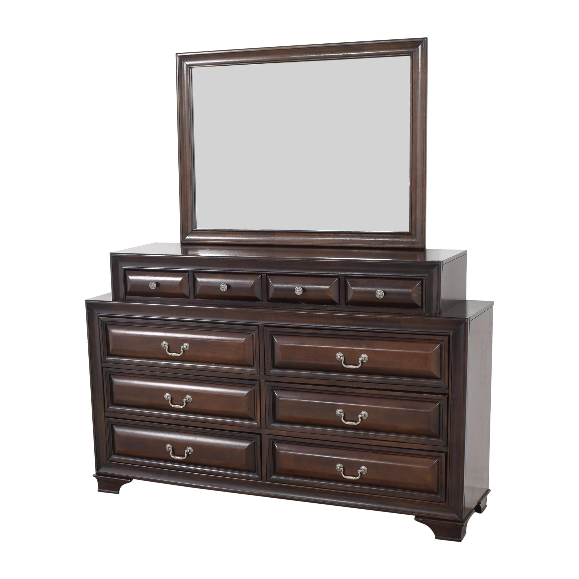 Ten Drawer Dresser with Mirror price
