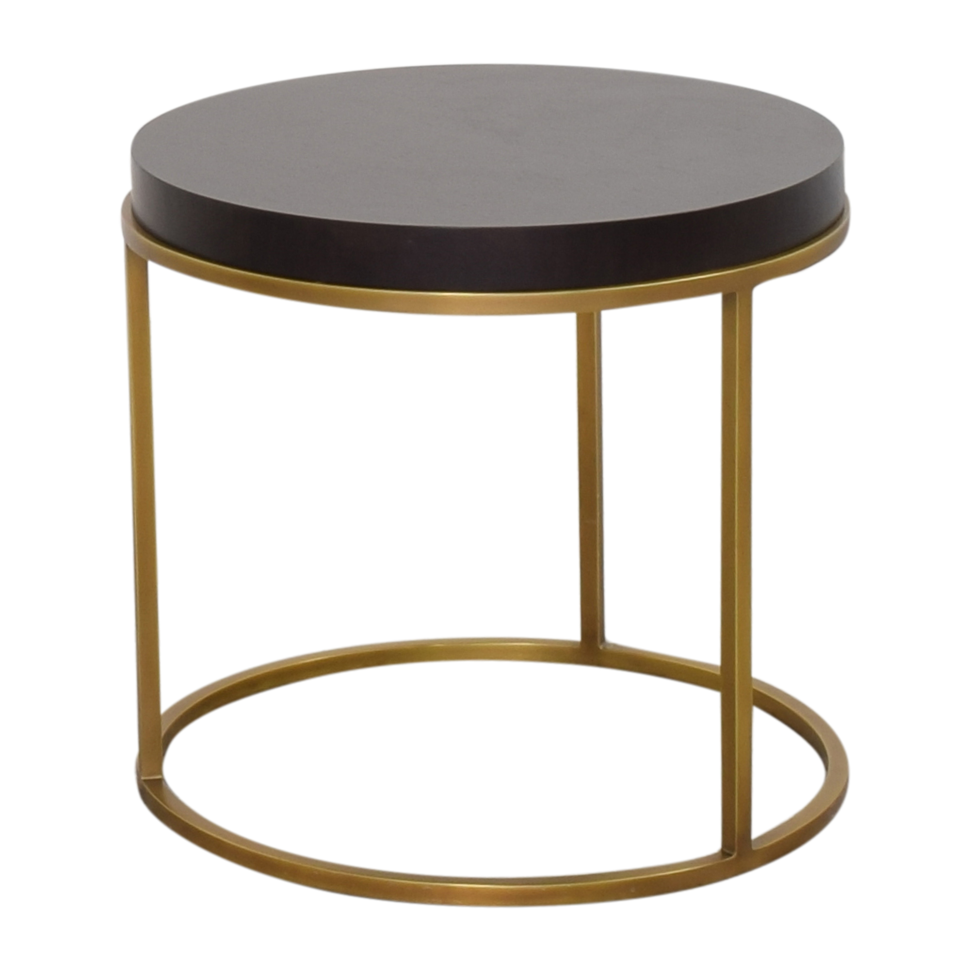 Restoration Hardware Restoration Hardware Nicholas Round Side Table End Tables