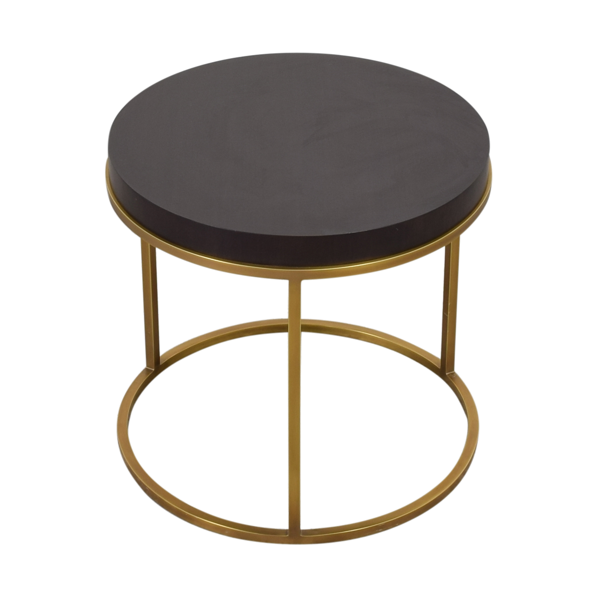 Restoration Hardware Restoration Hardware Nicholas Round Side Table