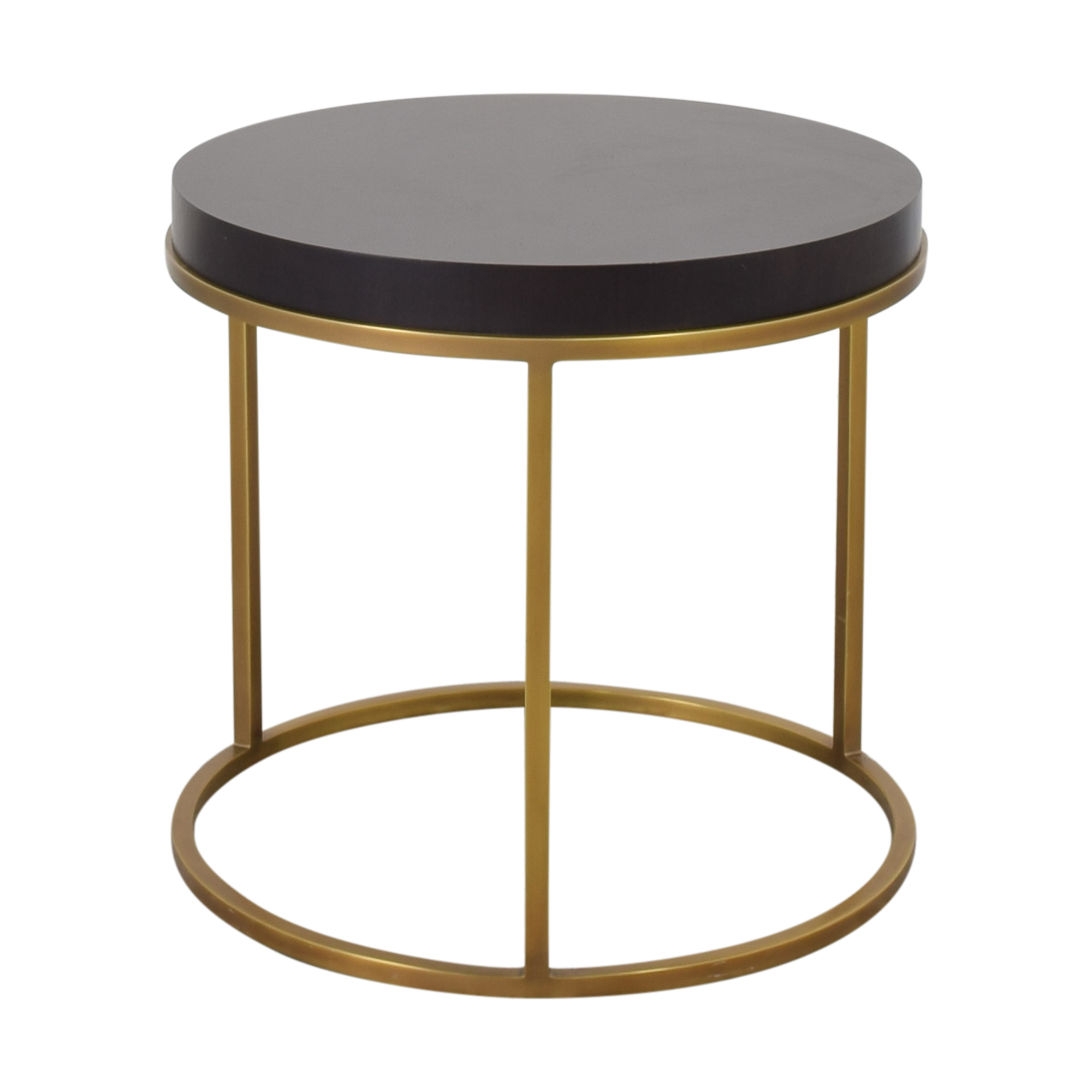 Restoration Hardware Restoration Hardware Nicholas Round Side Table nyc
