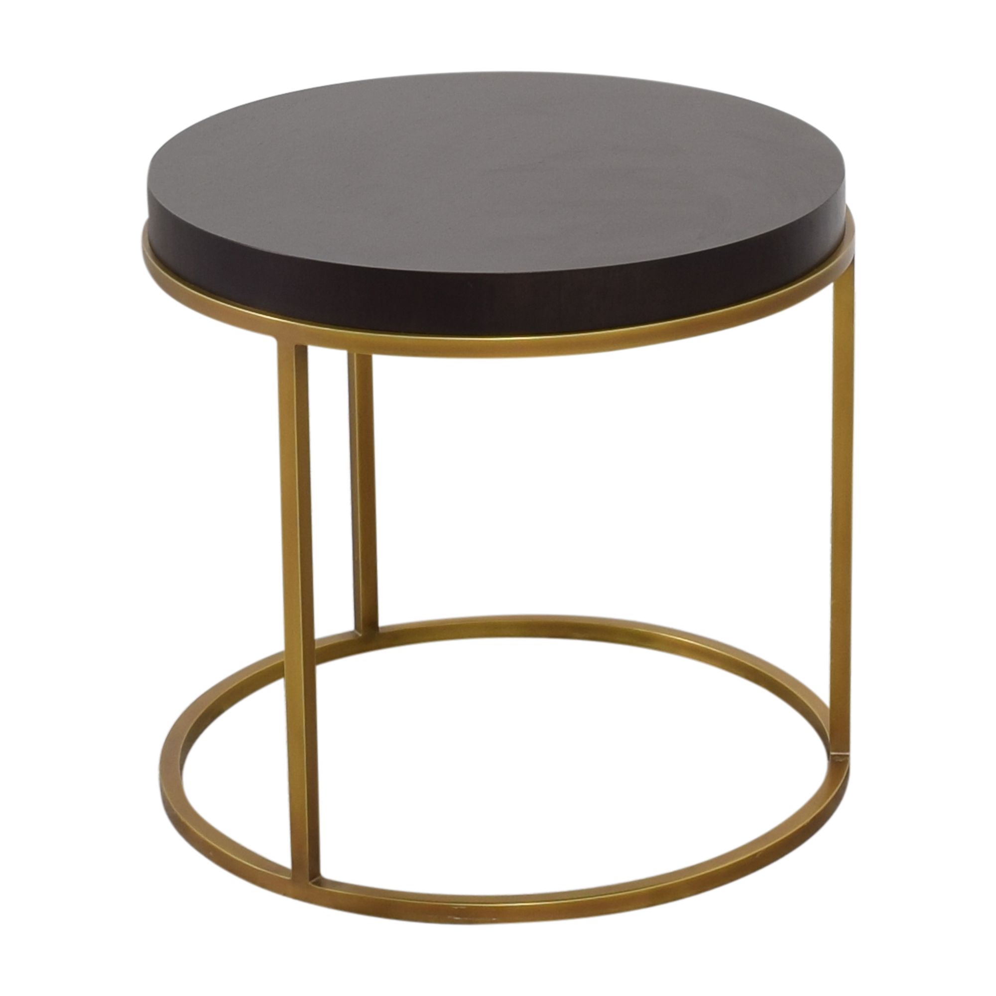 42 Off Restoration Hardware Restoration Hardware Nicholas Round Side Table Tables [ 2000 x 2000 Pixel ]
