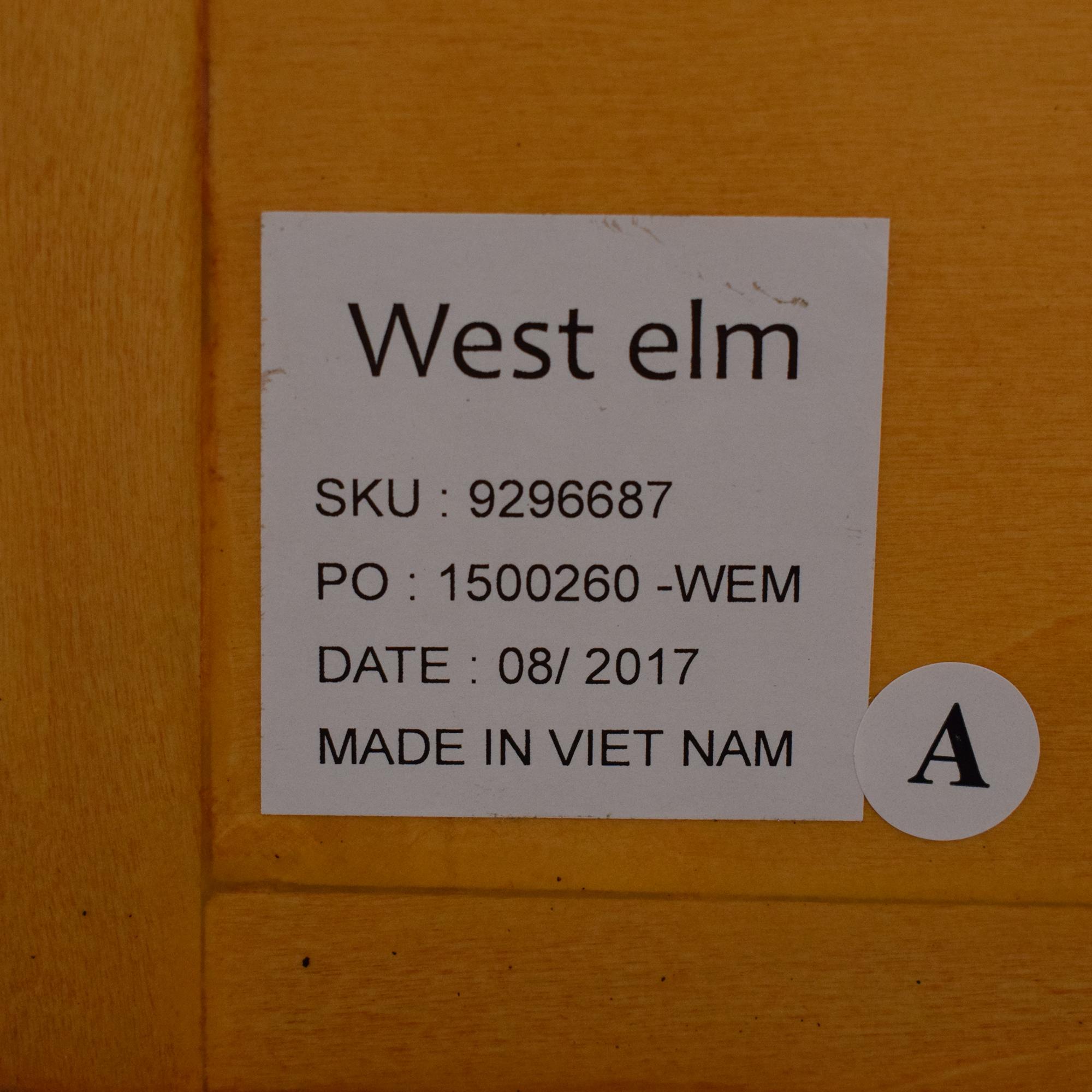 shop West Elm West Elm Minimalist Burl Console online