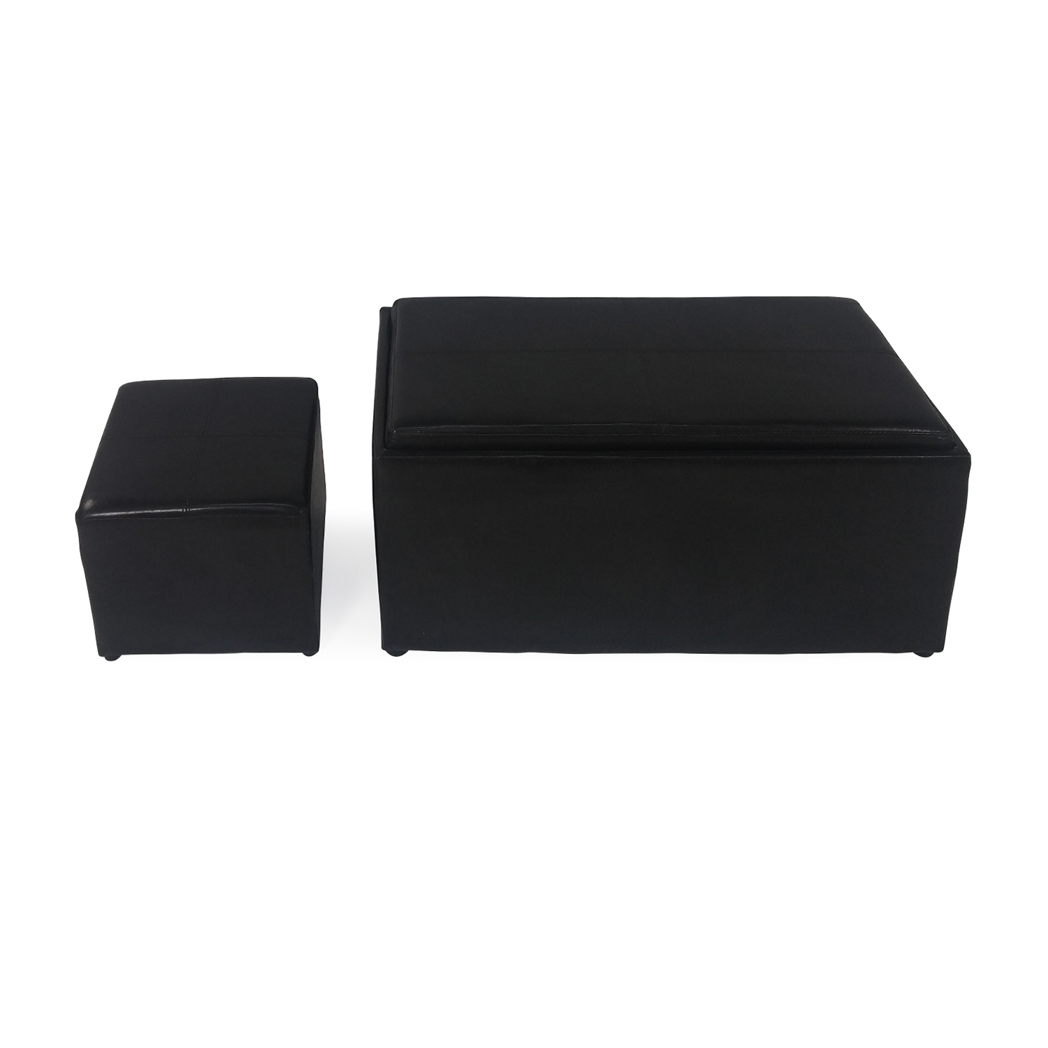 Target Storage Ottoman and Footstool Set sale