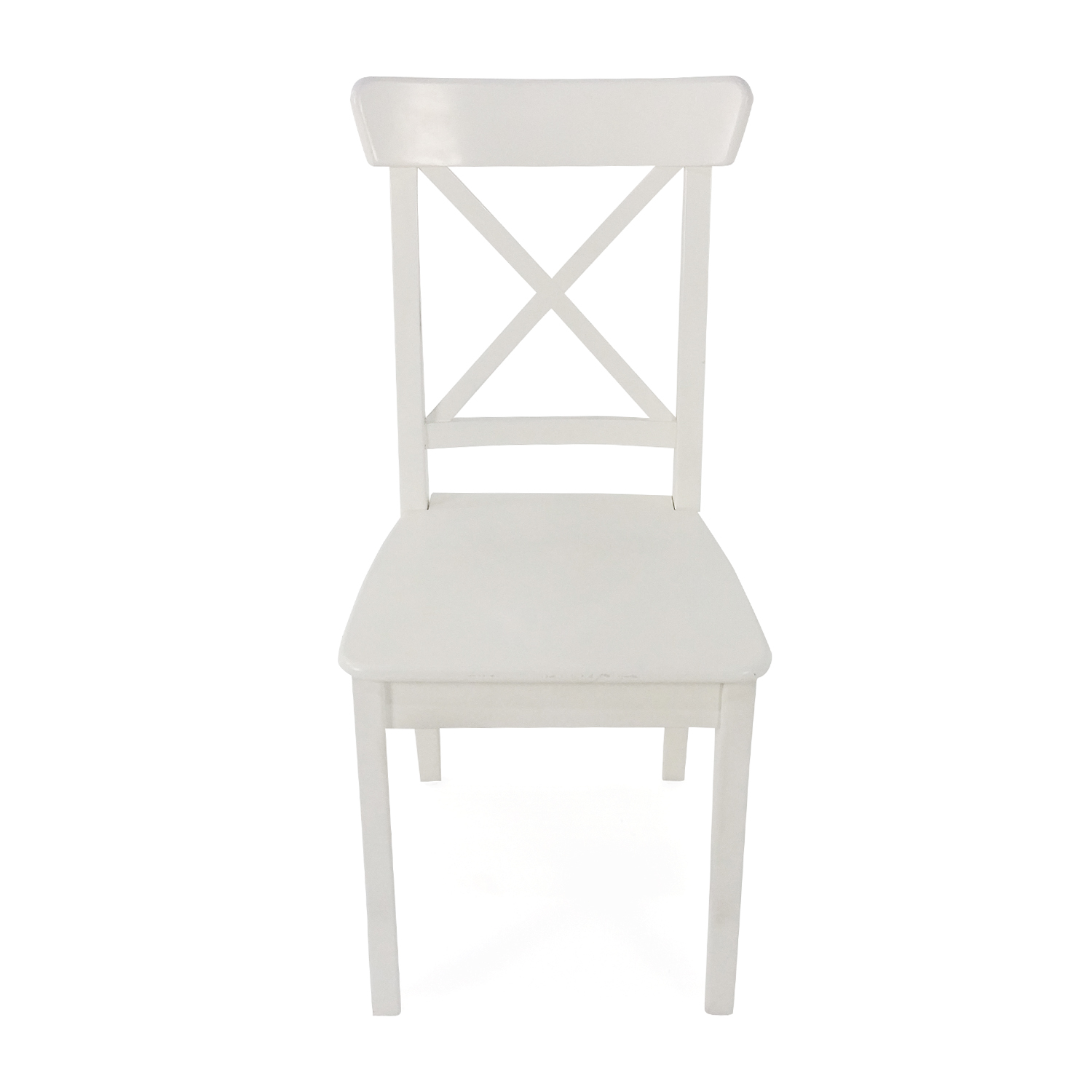 ... Ingolf White Dining Chair IKEA ...
