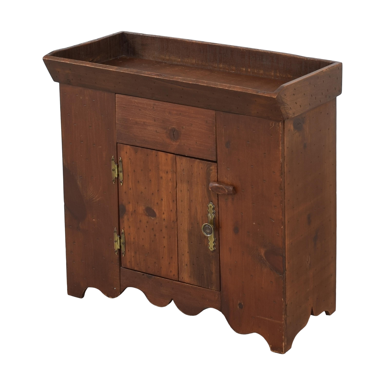 Custom Vintage Dry Sink ct