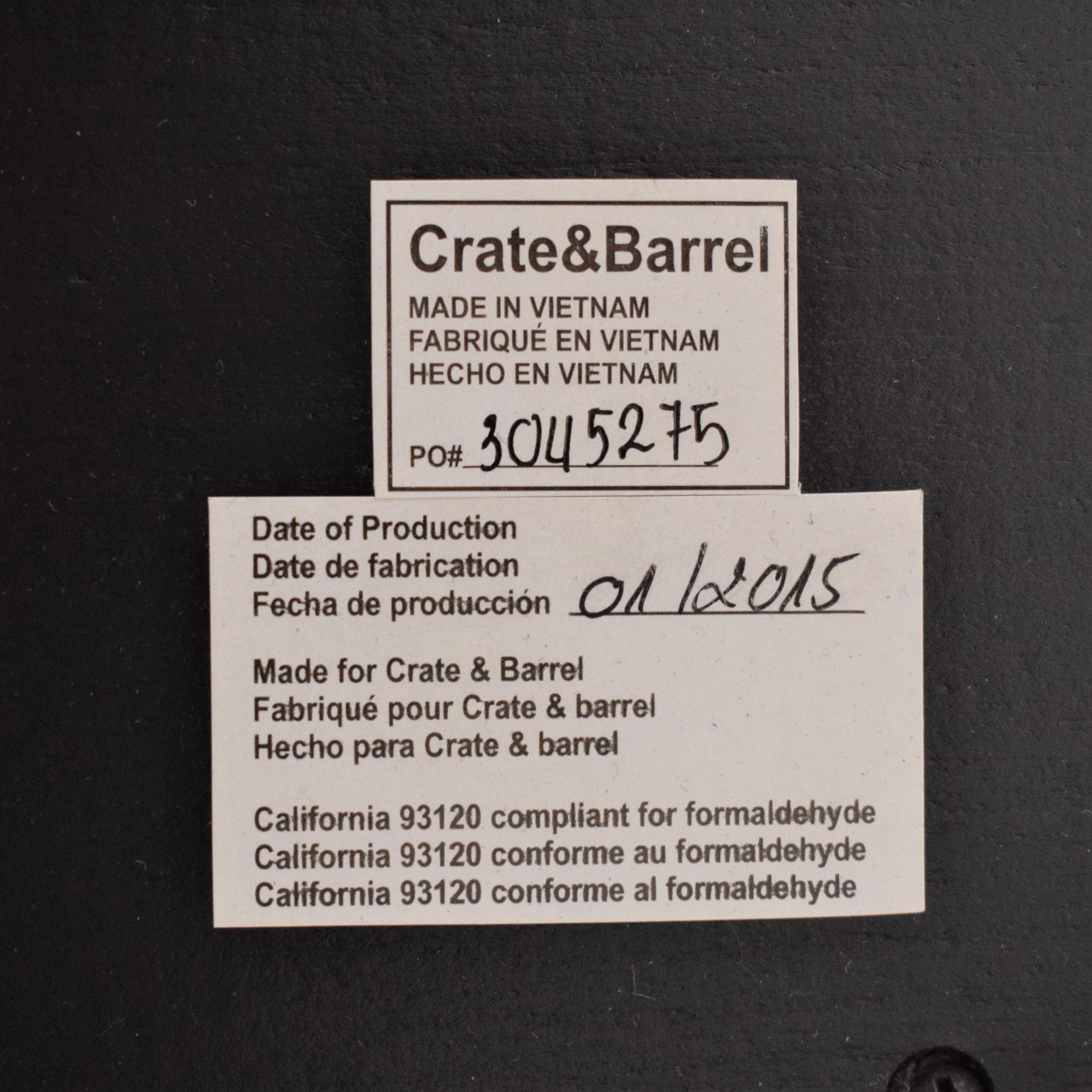 Crate & Barrel Facet Sideboard / Cabinets & Sideboards