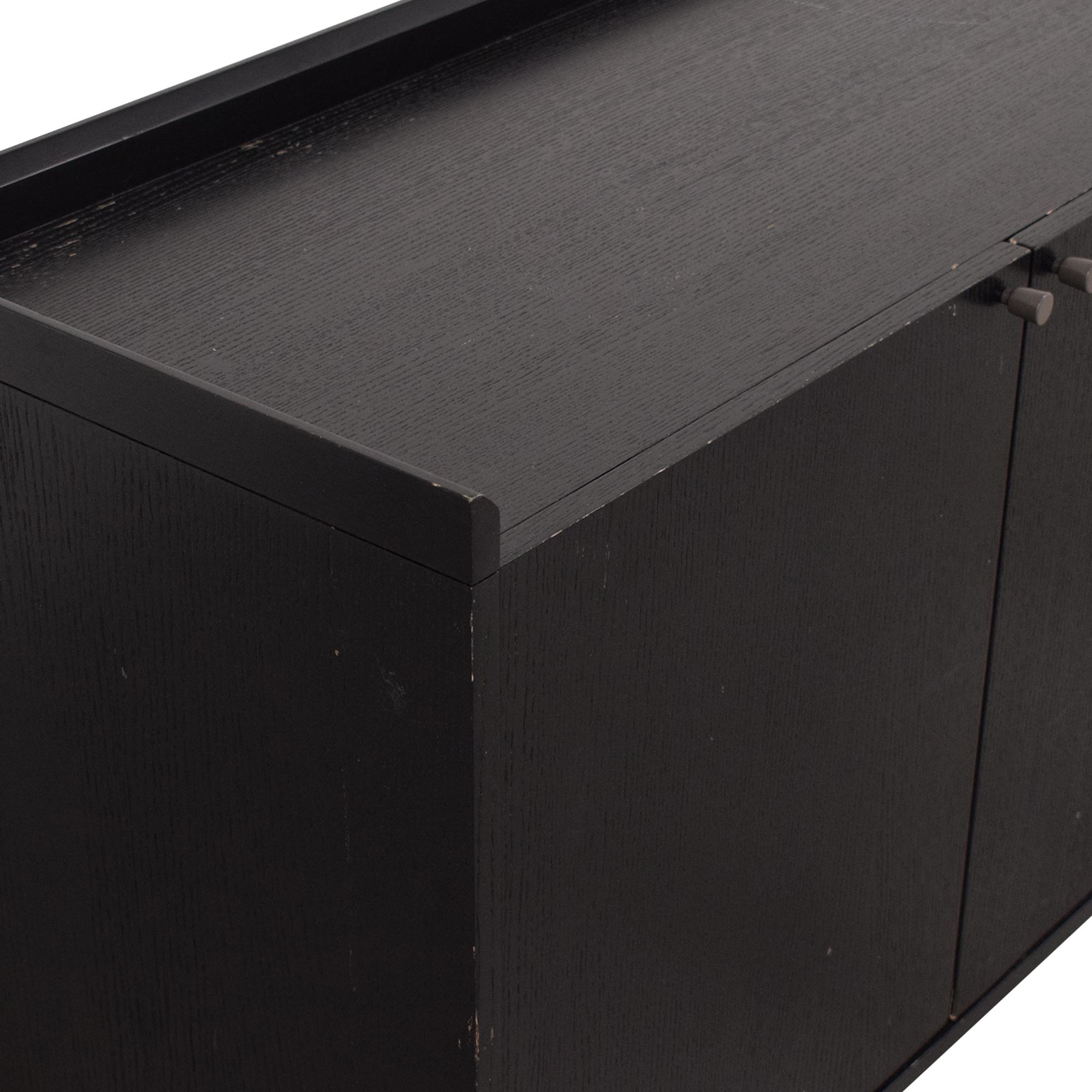 shop Crate & Barrel Facet Sideboard Crate & Barrel Cabinets & Sideboards
