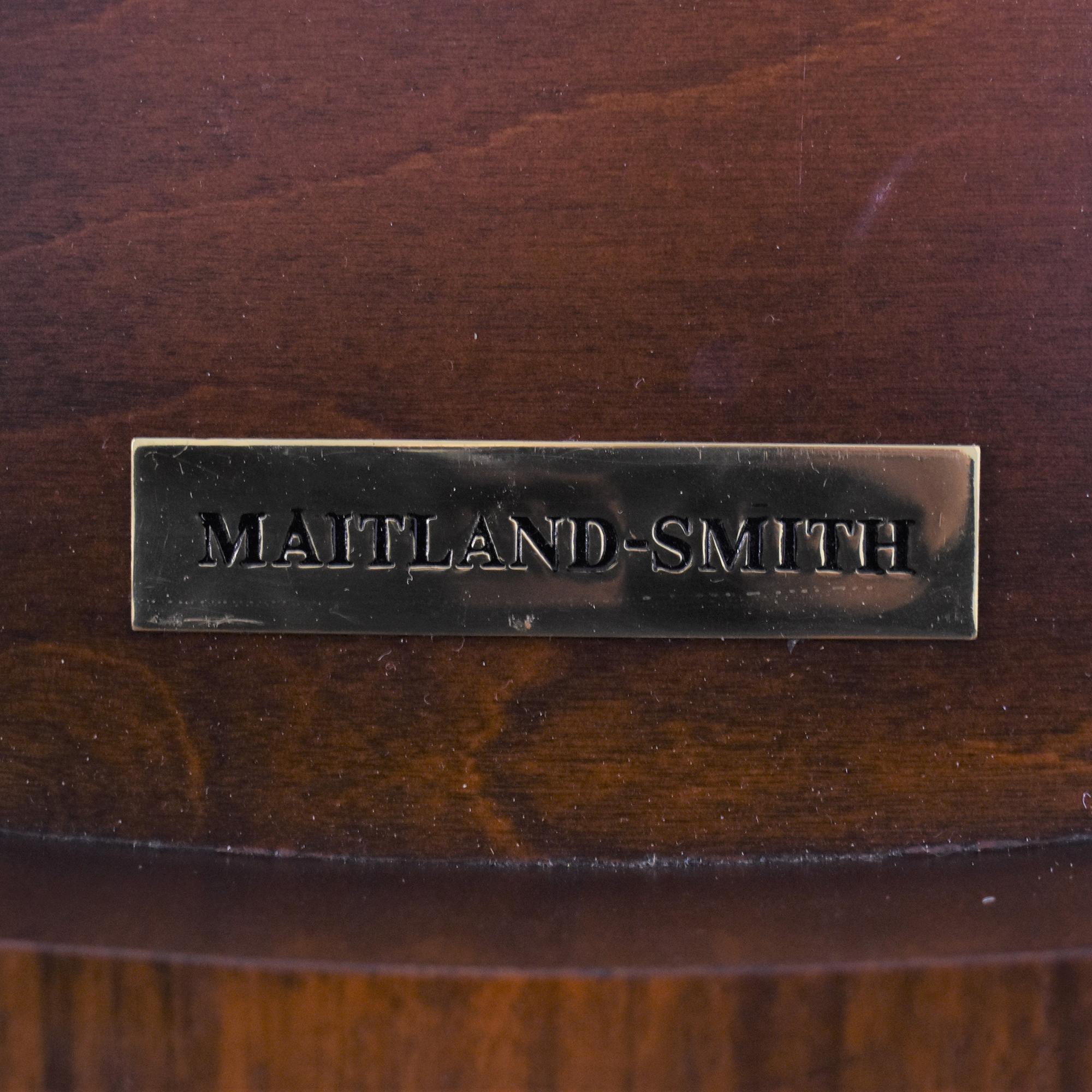 Maitland-Smith Maitland-Smith Center Table used