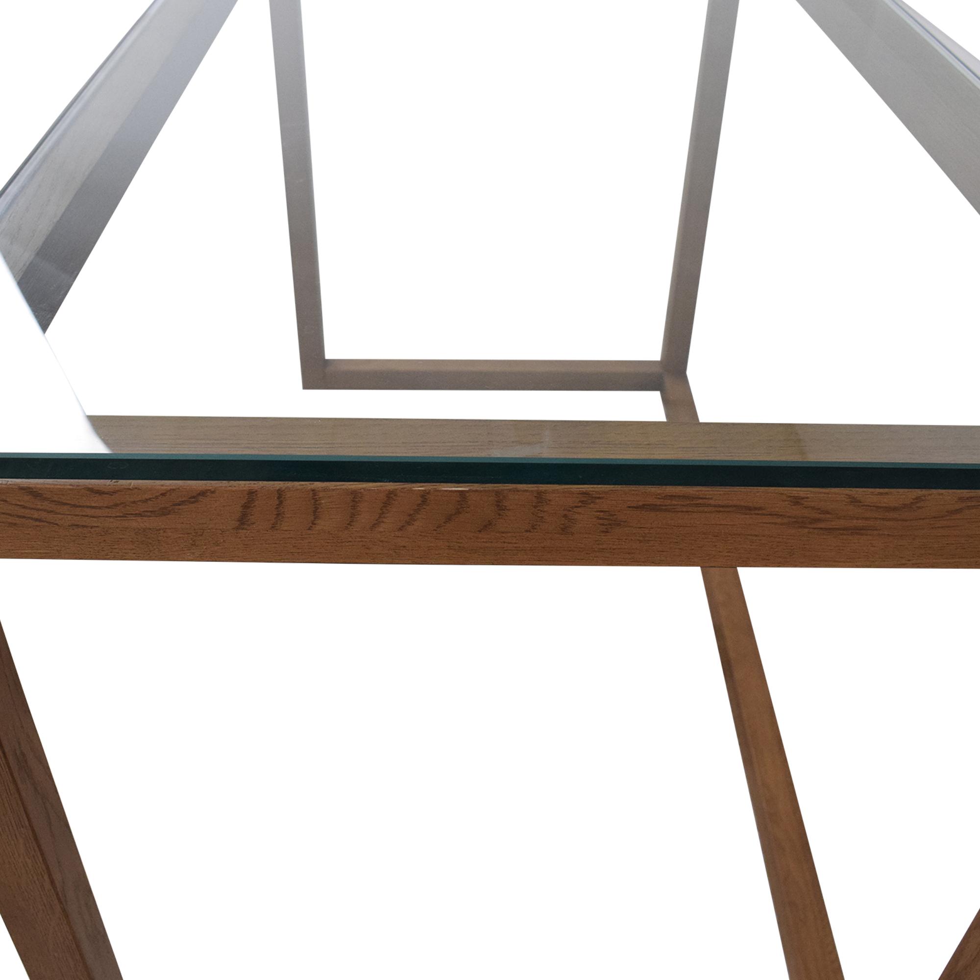 buy Crate & Barrel Anderson Desk Crate & Barrel Home Office Desks