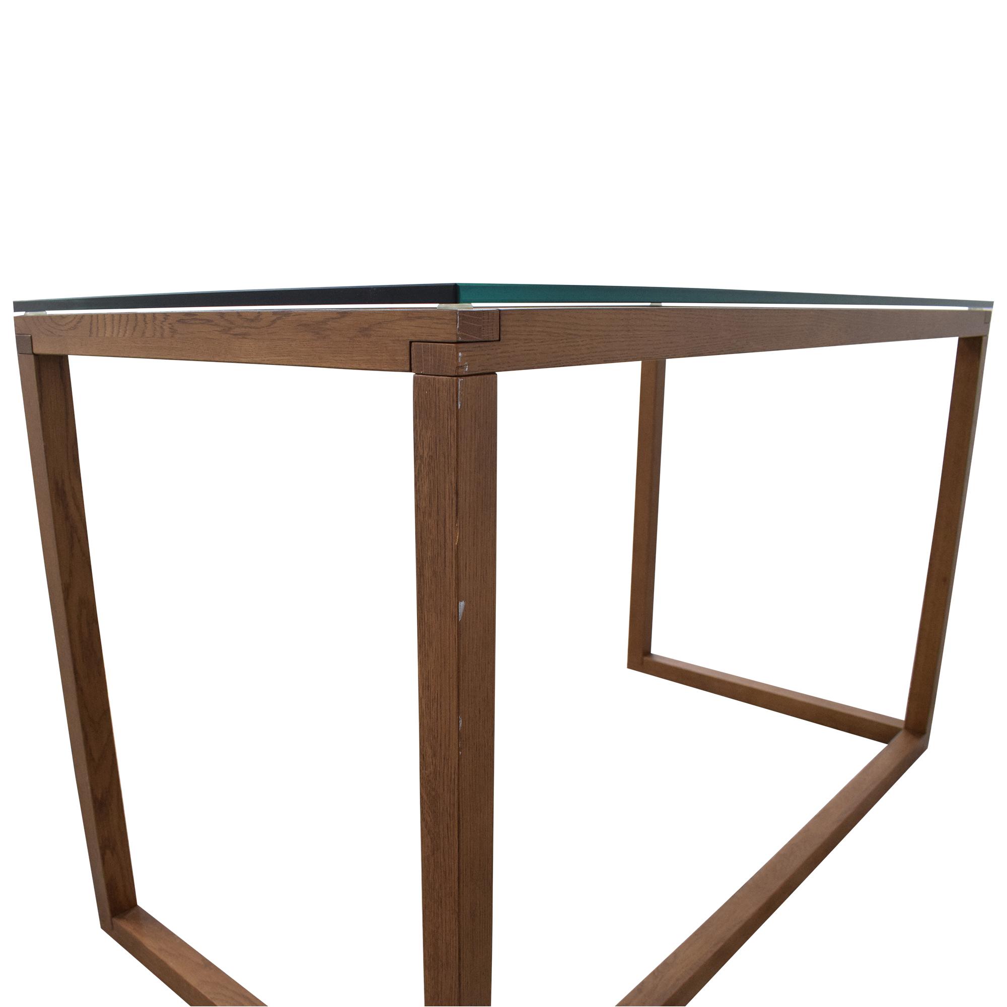 Crate & Barrel Crate & Barrel Anderson Desk dimensions