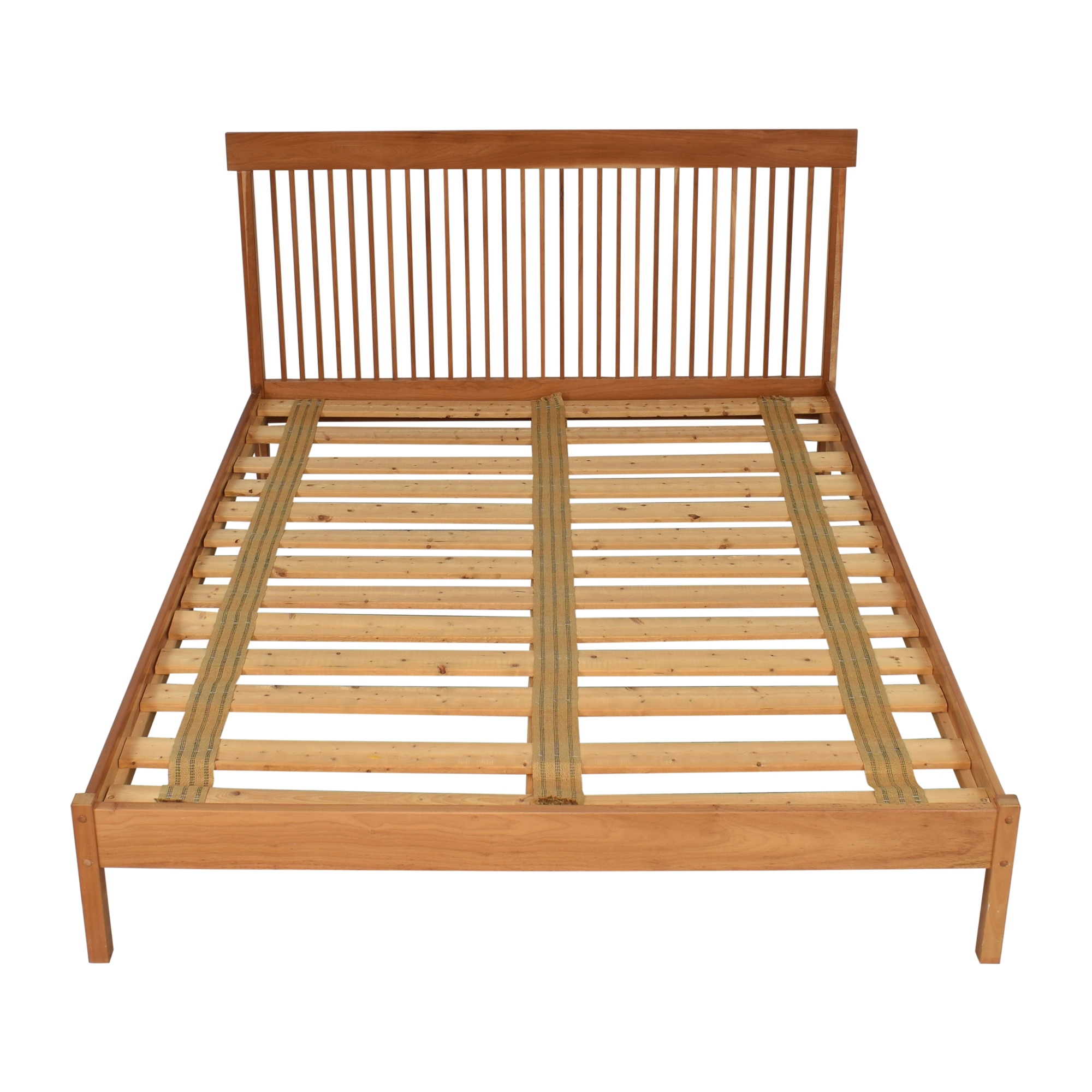 Shaker Style Queen Platform Bed pa