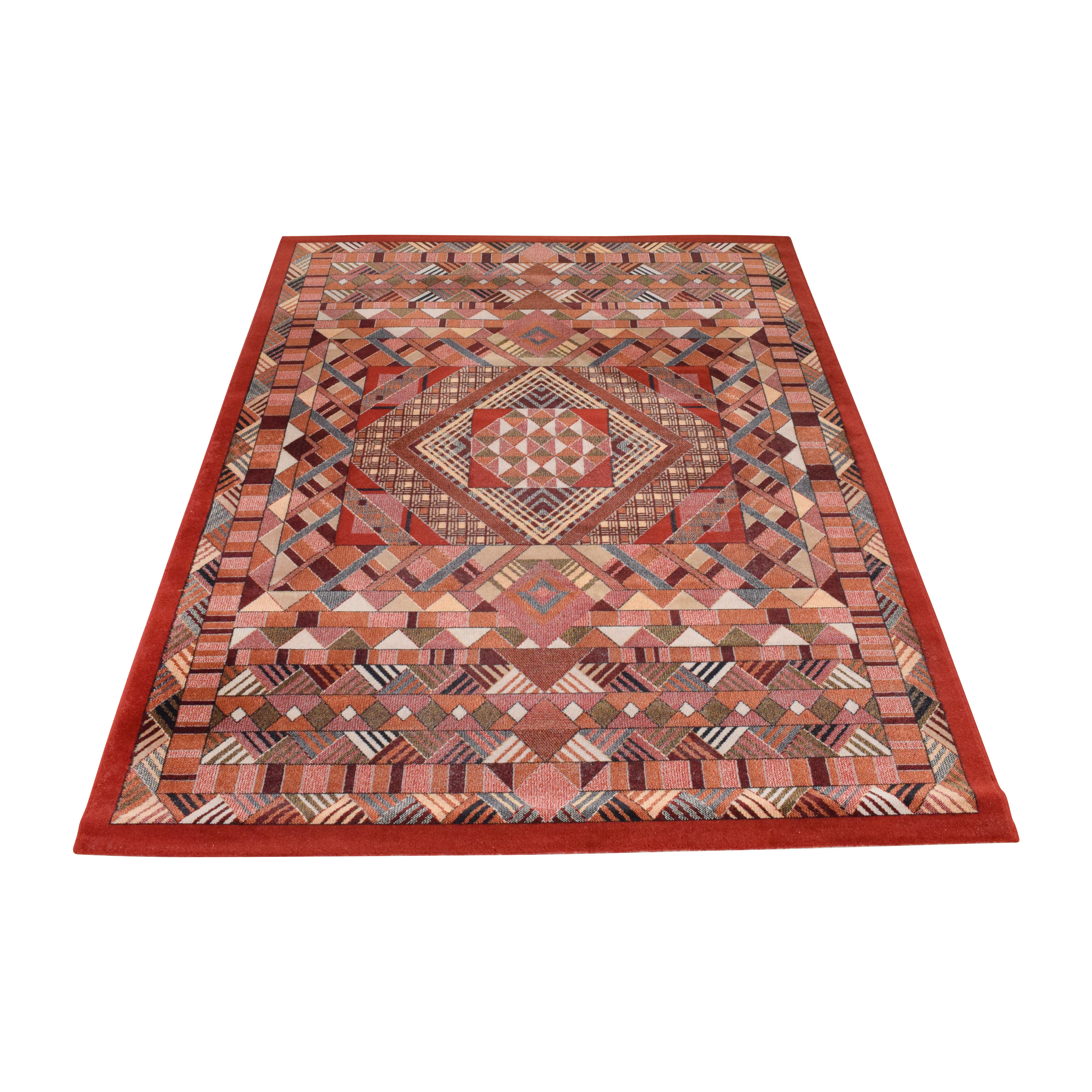 Patterned Area Rug ma