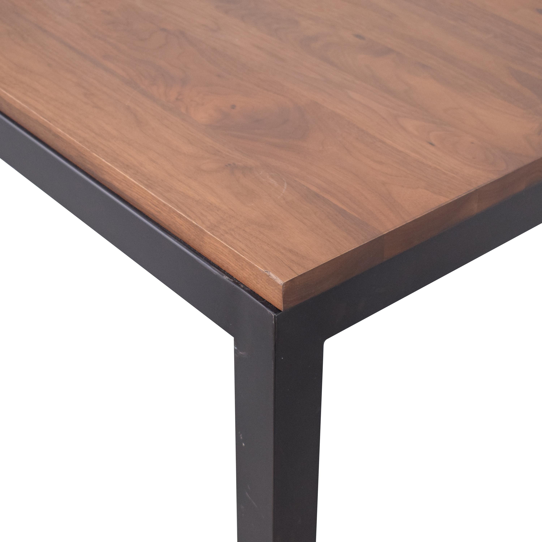 buy Crate & Barrel Custom Parsons Table Crate & Barrel Dinner Tables