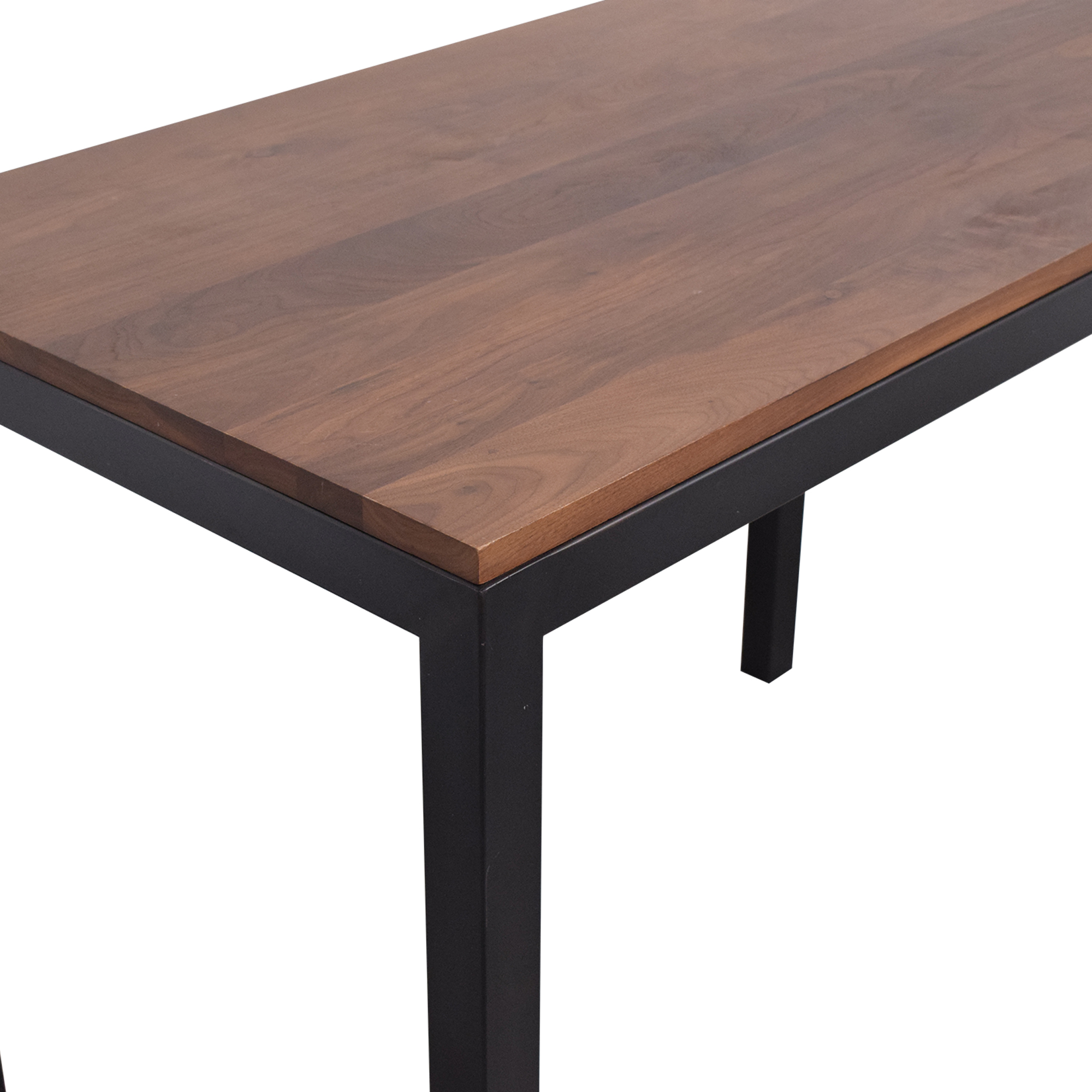 Crate & Barrel Crate & Barrel Custom Parsons Table on sale