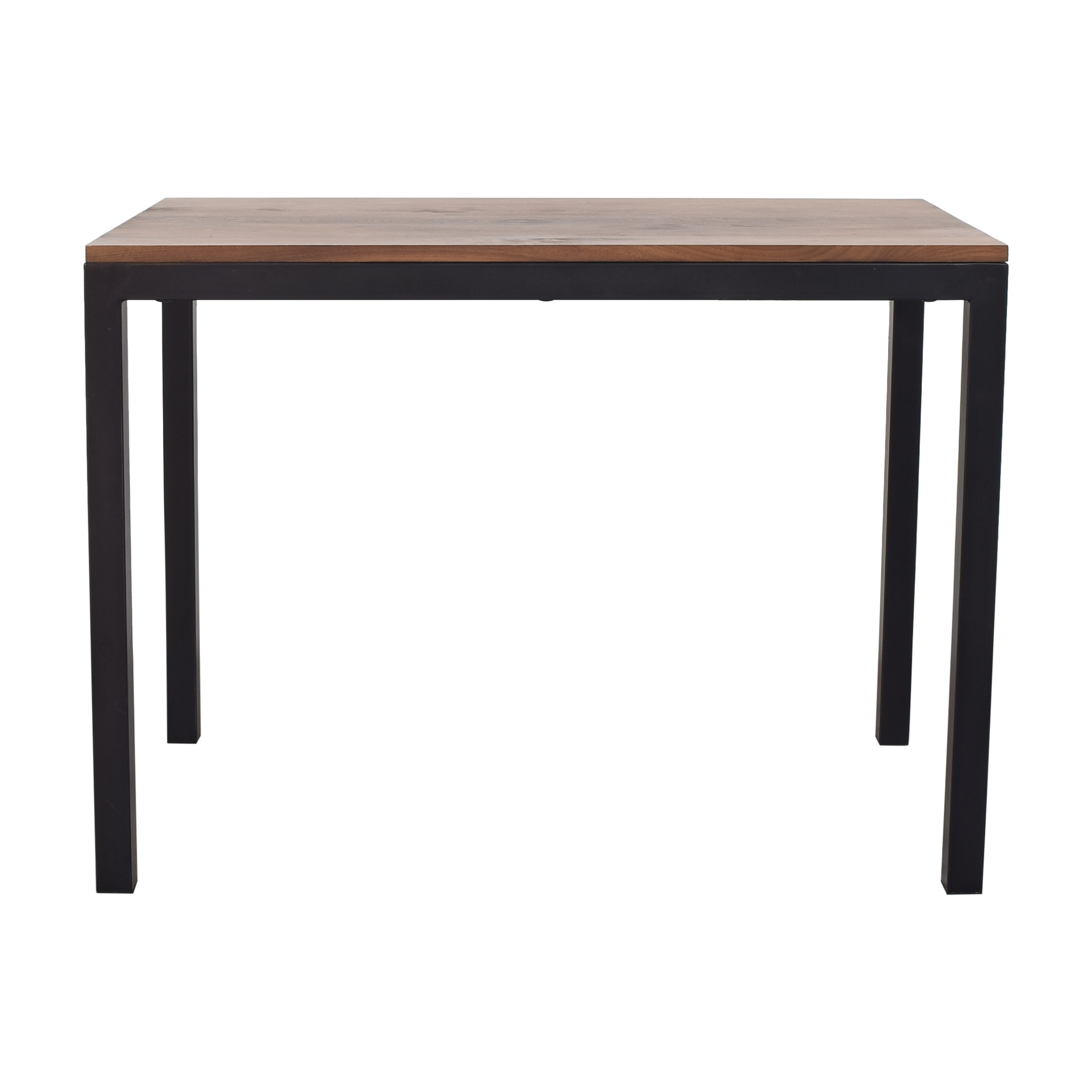 Crate & Barrel Crate & Barrel Custom Parsons Table brown