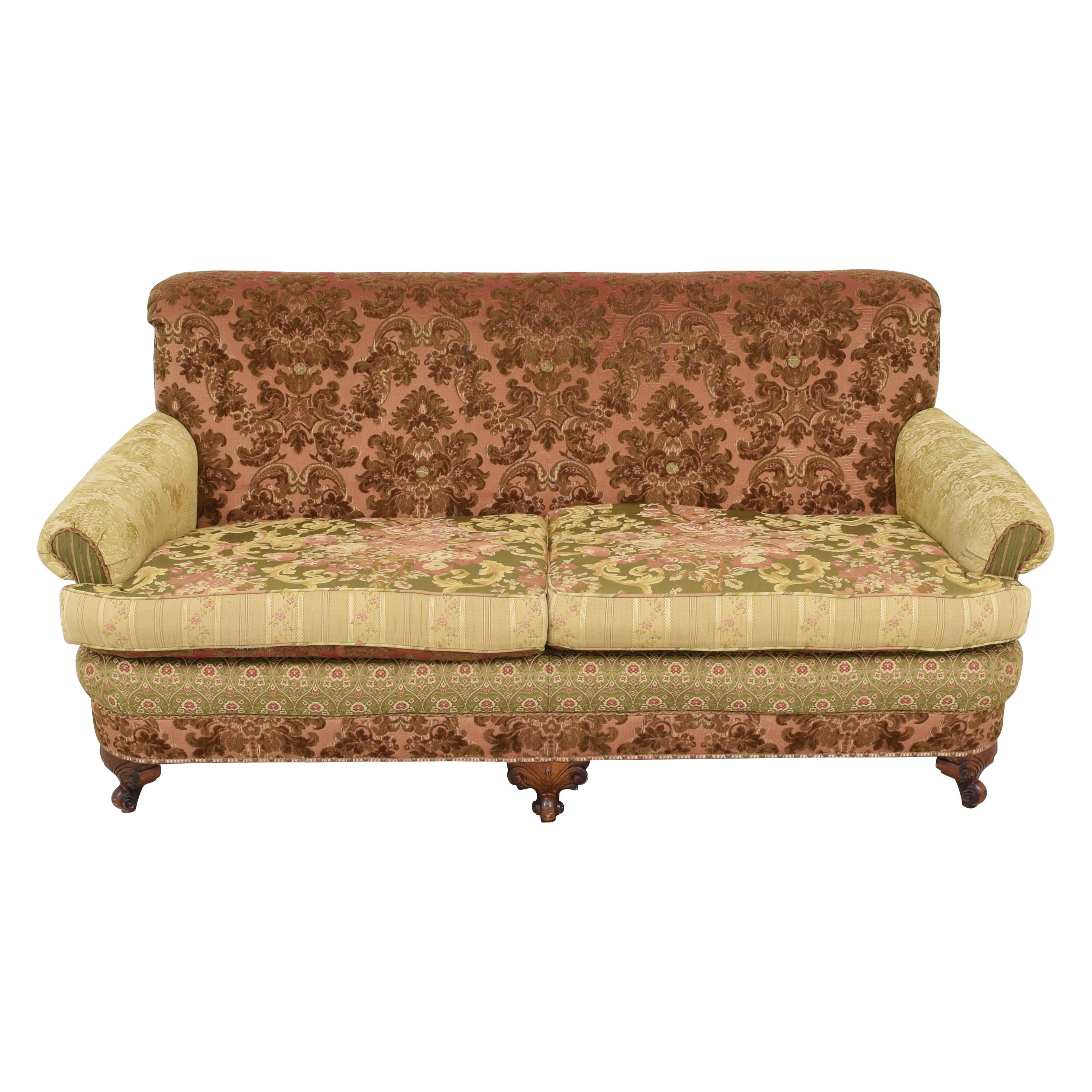 Key City Furniture Key City Jeff Zimmerman Victorian Sofa dimensions