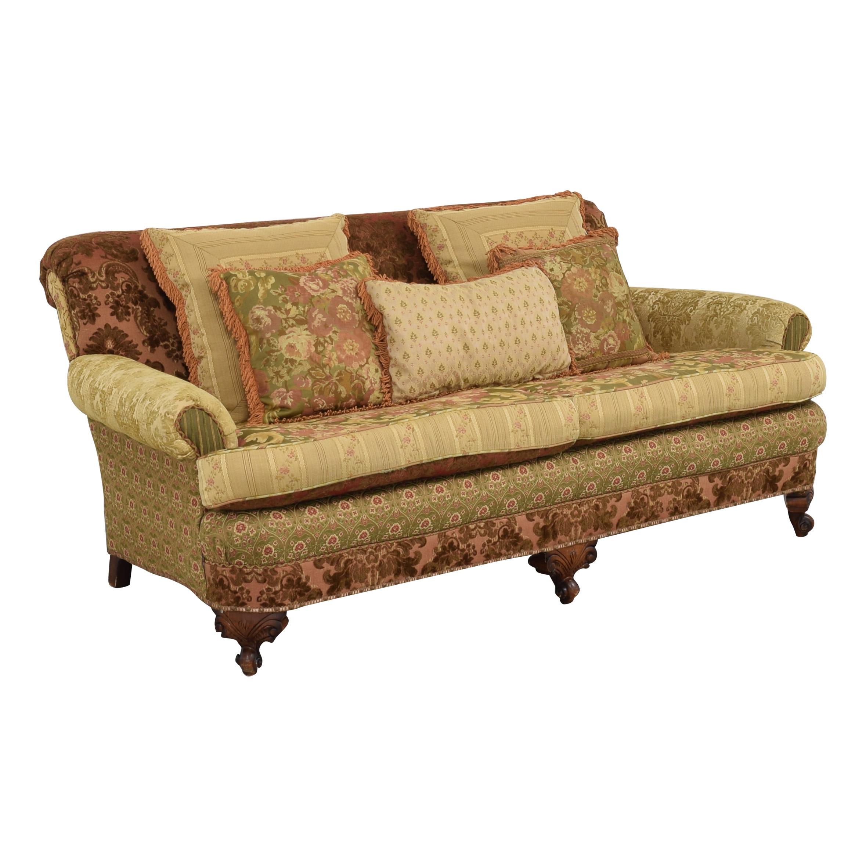 Key City Furniture Key City Jeff Zimmerman Victorian Sofa discount
