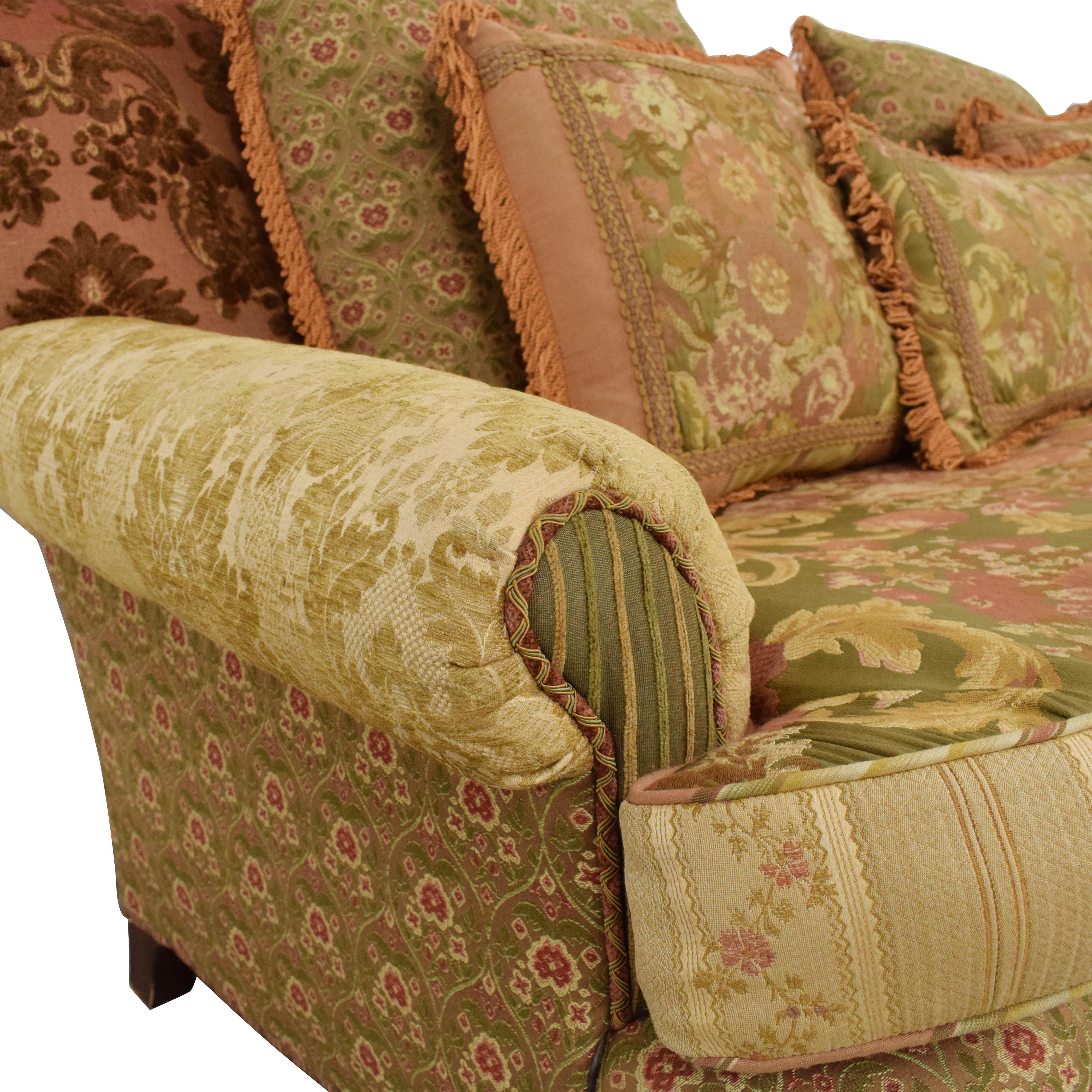 Key City Furniture Key City Jeff Zimmerman Victorian Sofa ct