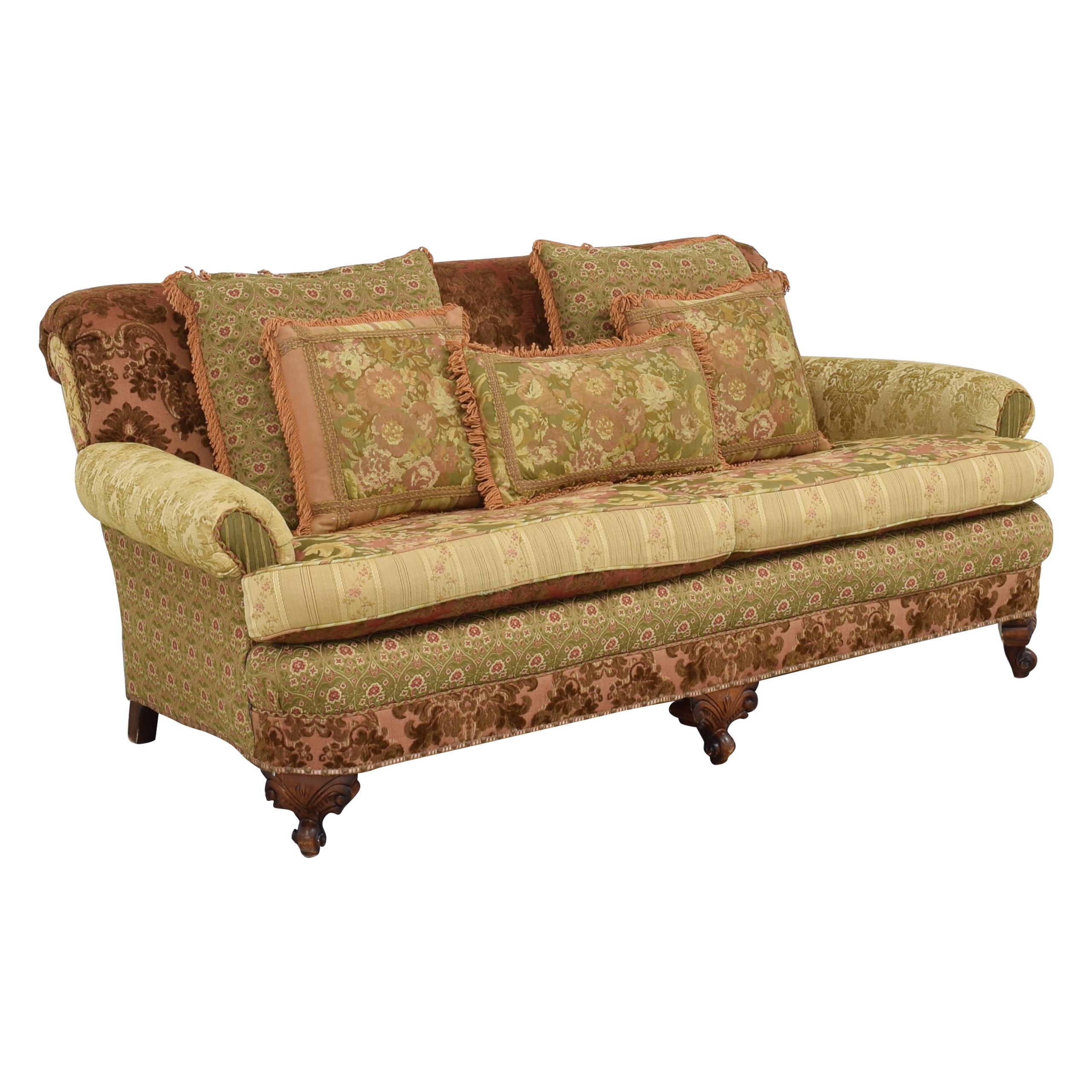 Key City Furniture Key City Jeff Zimmerman Victorian Sofa nj