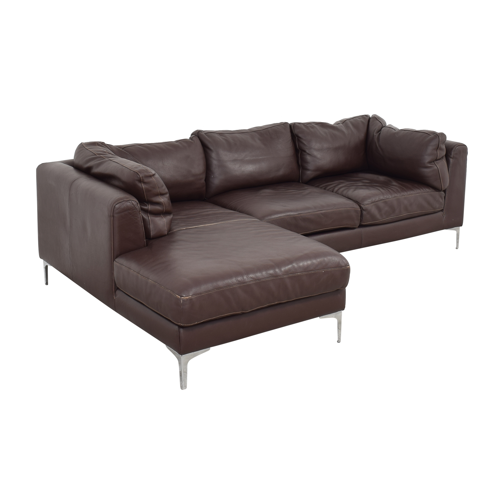 shop Design Within Reach Nicoletti Sectional Design Within Reach Sectionals
