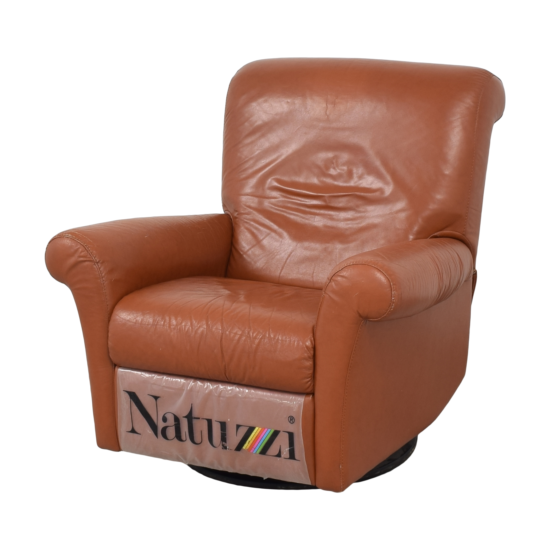 Natuzzi Natuzzi Swivel Recliner on sale