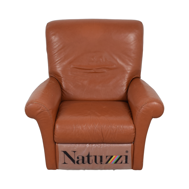 Natuzzi Natuzzi Swivel Recliner brown