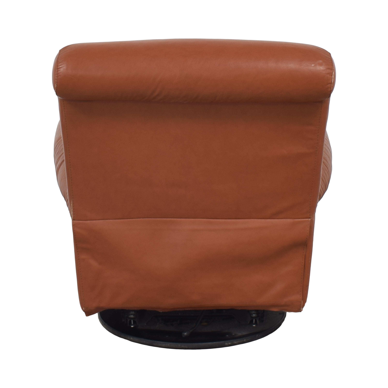buy Natuzzi Swivel Recliner Natuzzi Accent Chairs