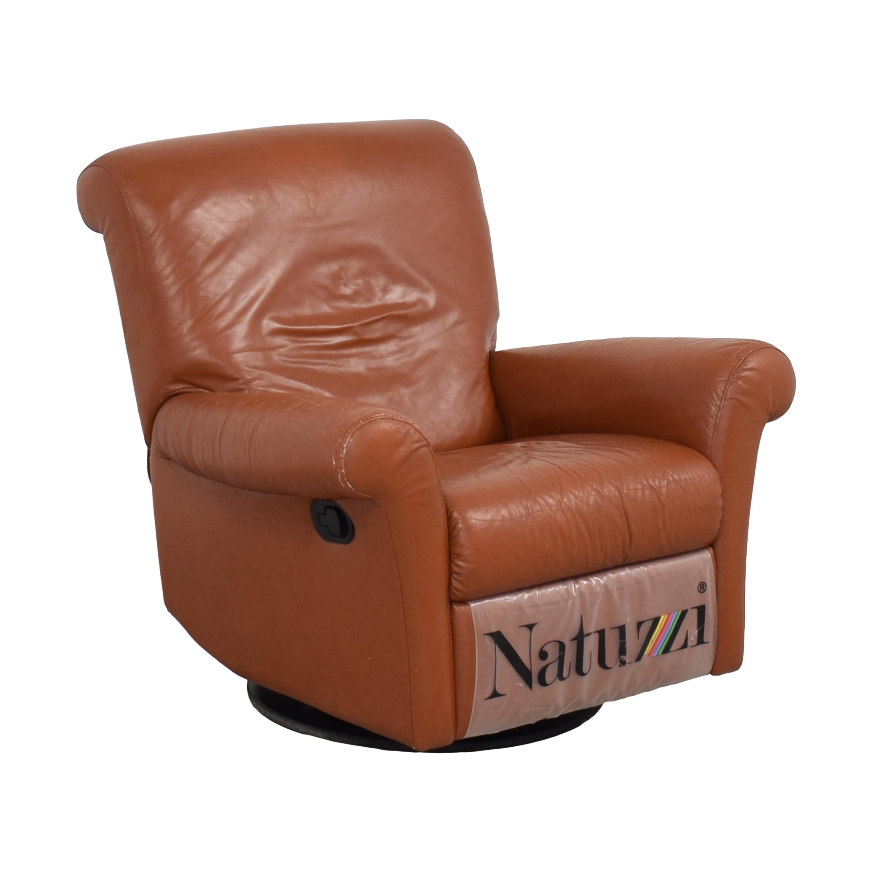 Natuzzi Natuzzi Swivel Recliner Chairs