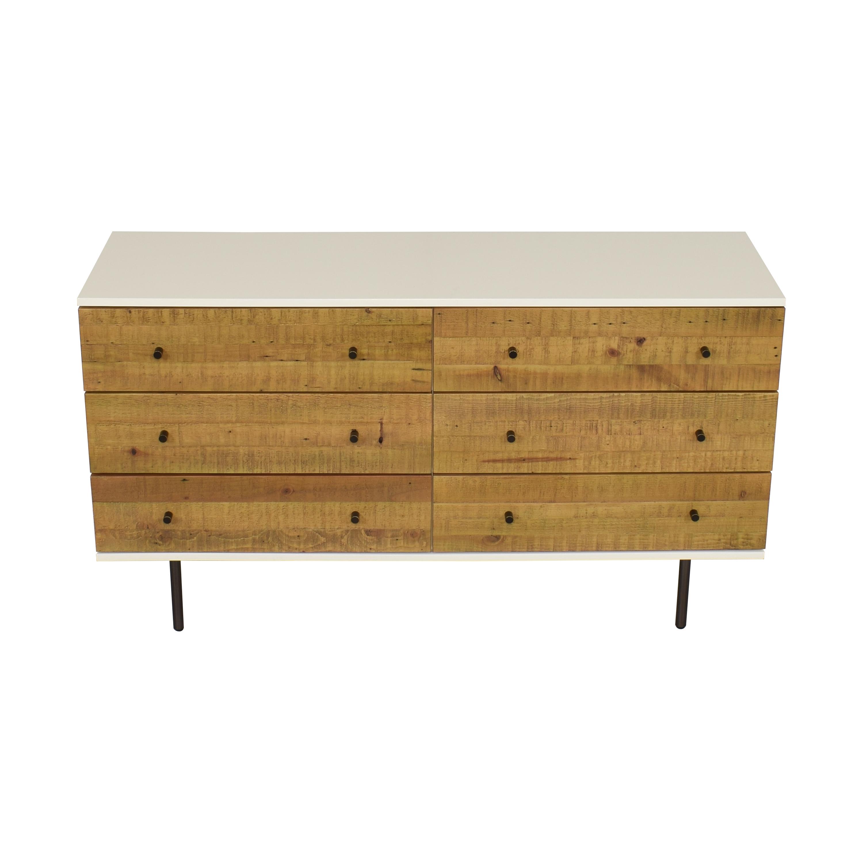 West Elm Emmerson Six Drawer Dresser sale